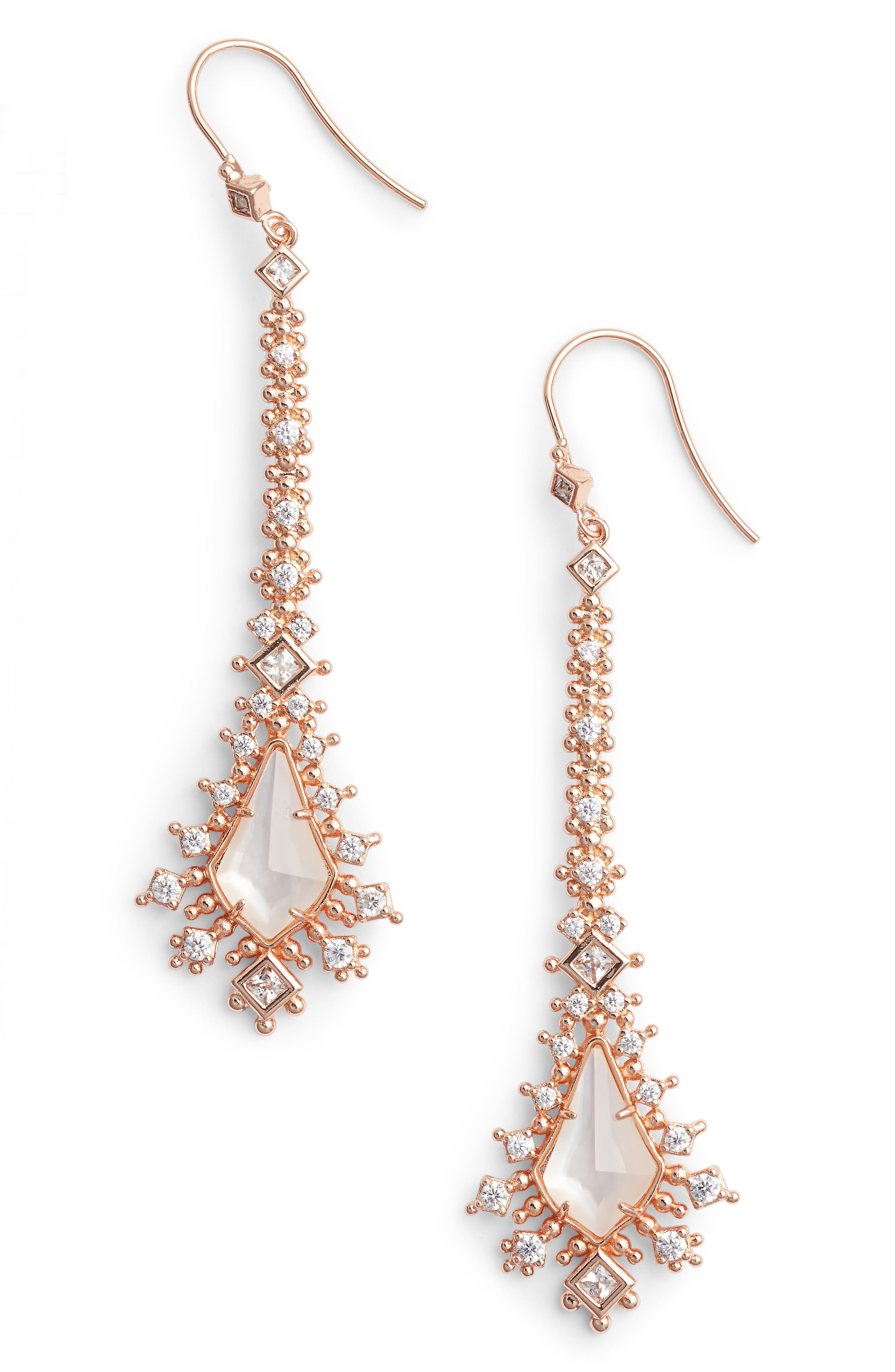Reimer Mother of Pearl Drop Earrings,                             Main thumbnail 2, color,