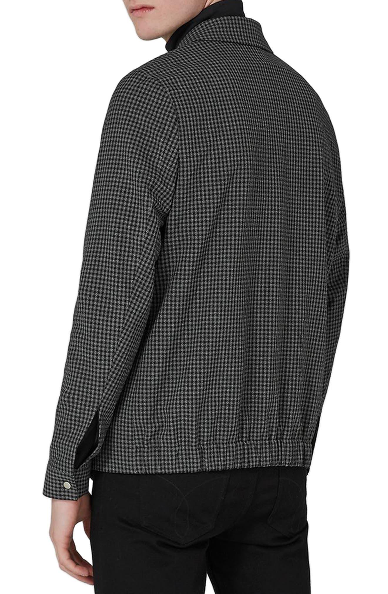 Gingham Harrington Jacket,                             Alternate thumbnail 2, color,                             020