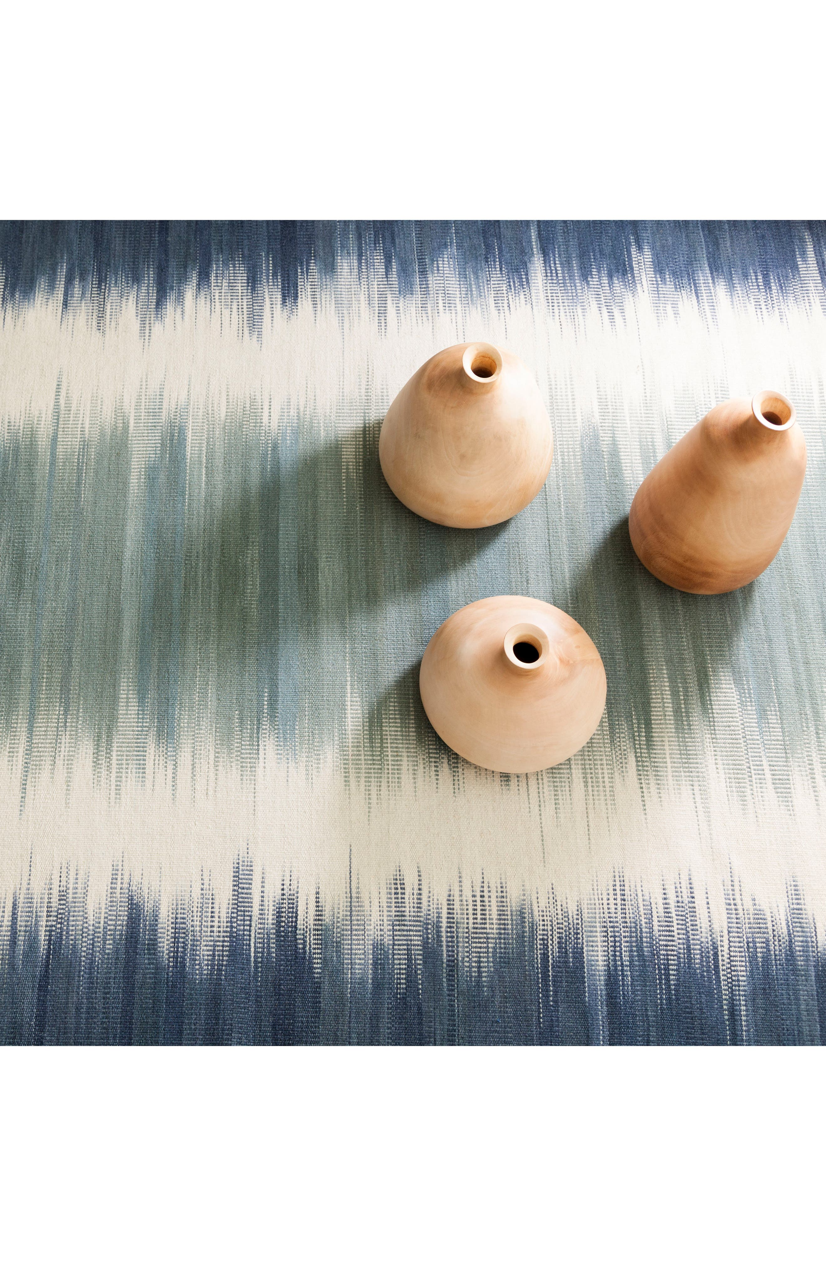 Sombre Kilim Wool-Blend Rug,                             Alternate thumbnail 2, color,                             400
