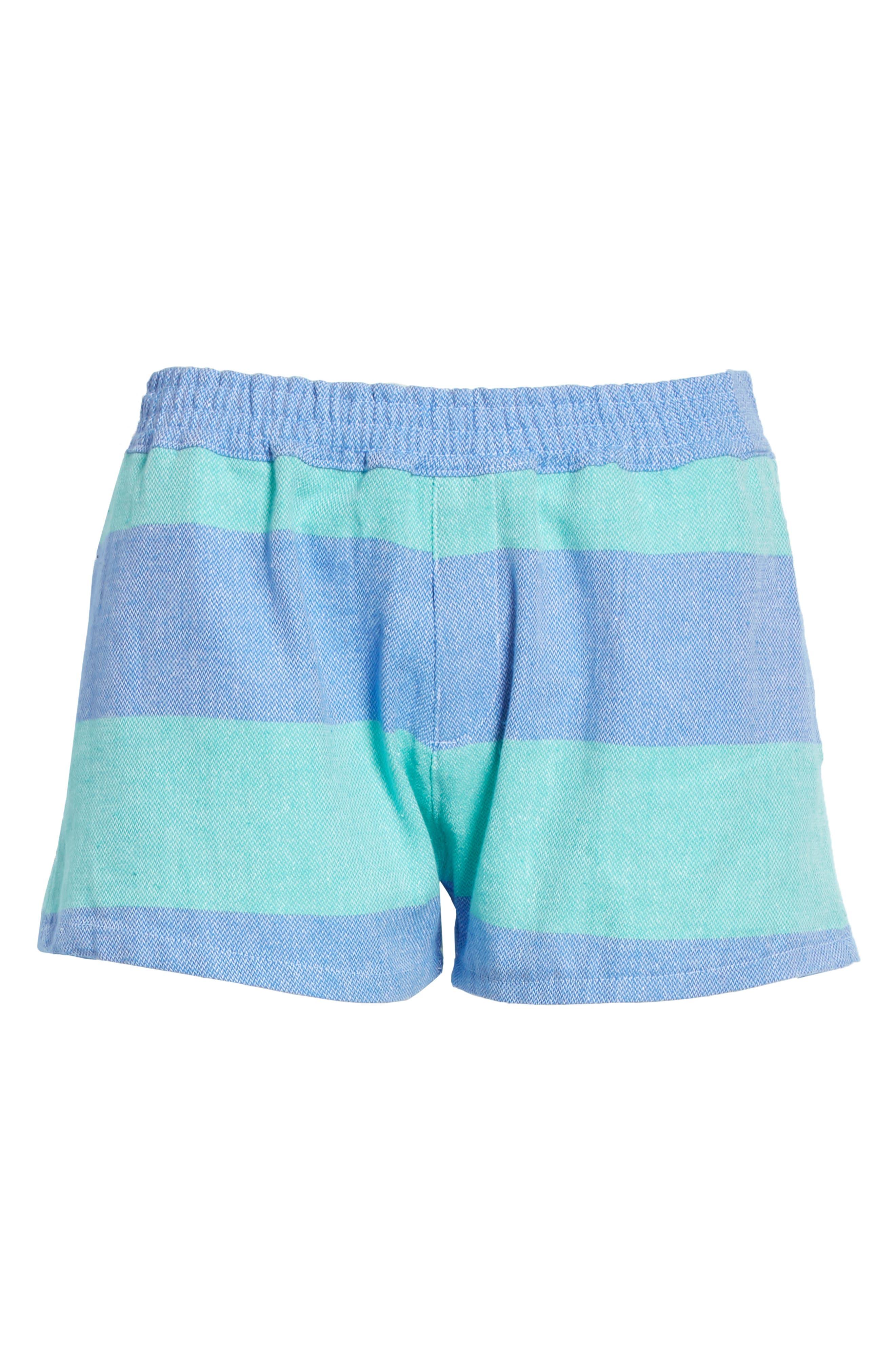Surf Stripe Shorts,                             Alternate thumbnail 6, color,
