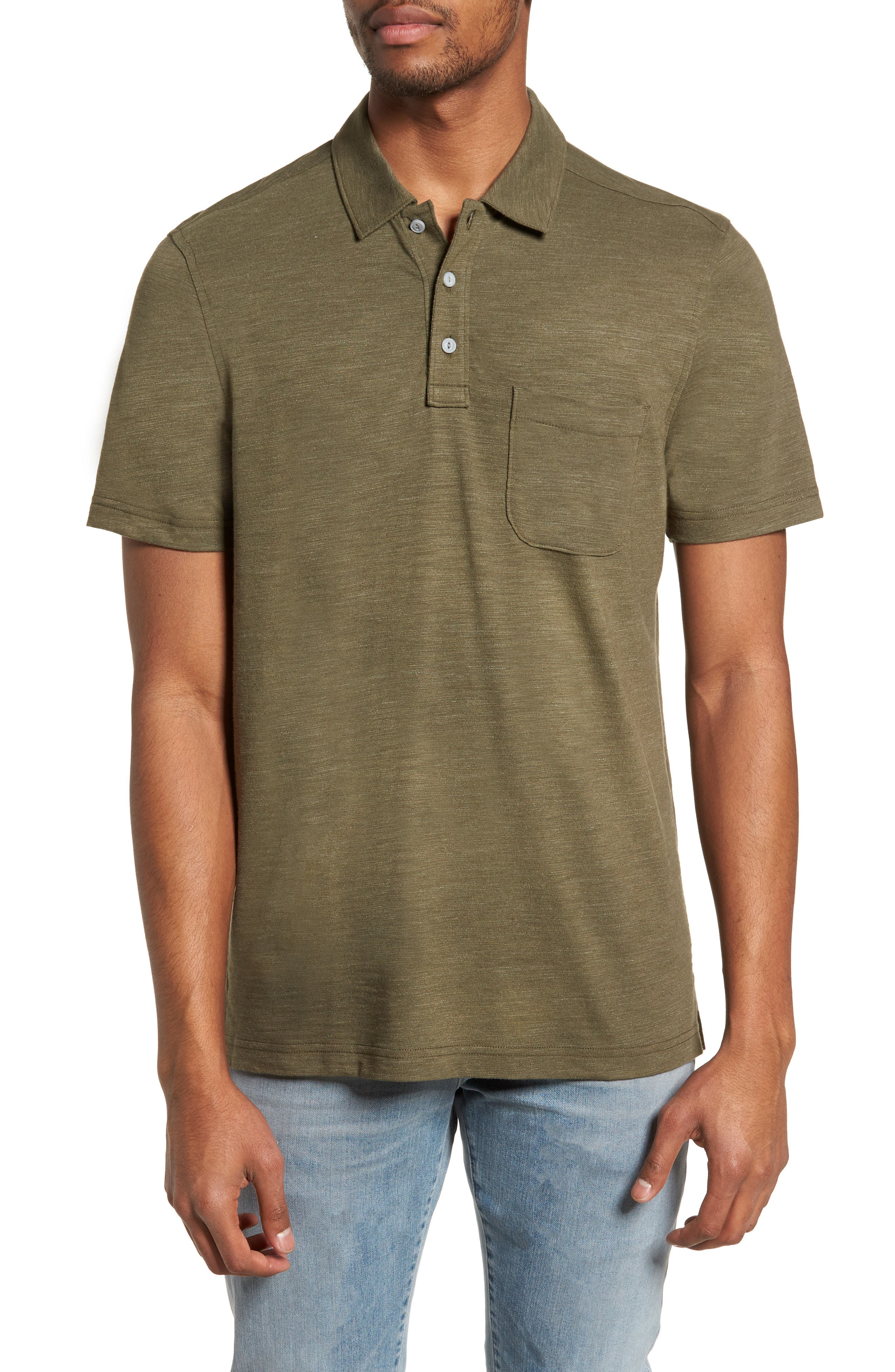 Space Dyed Pocket Polo,                             Main thumbnail 2, color,