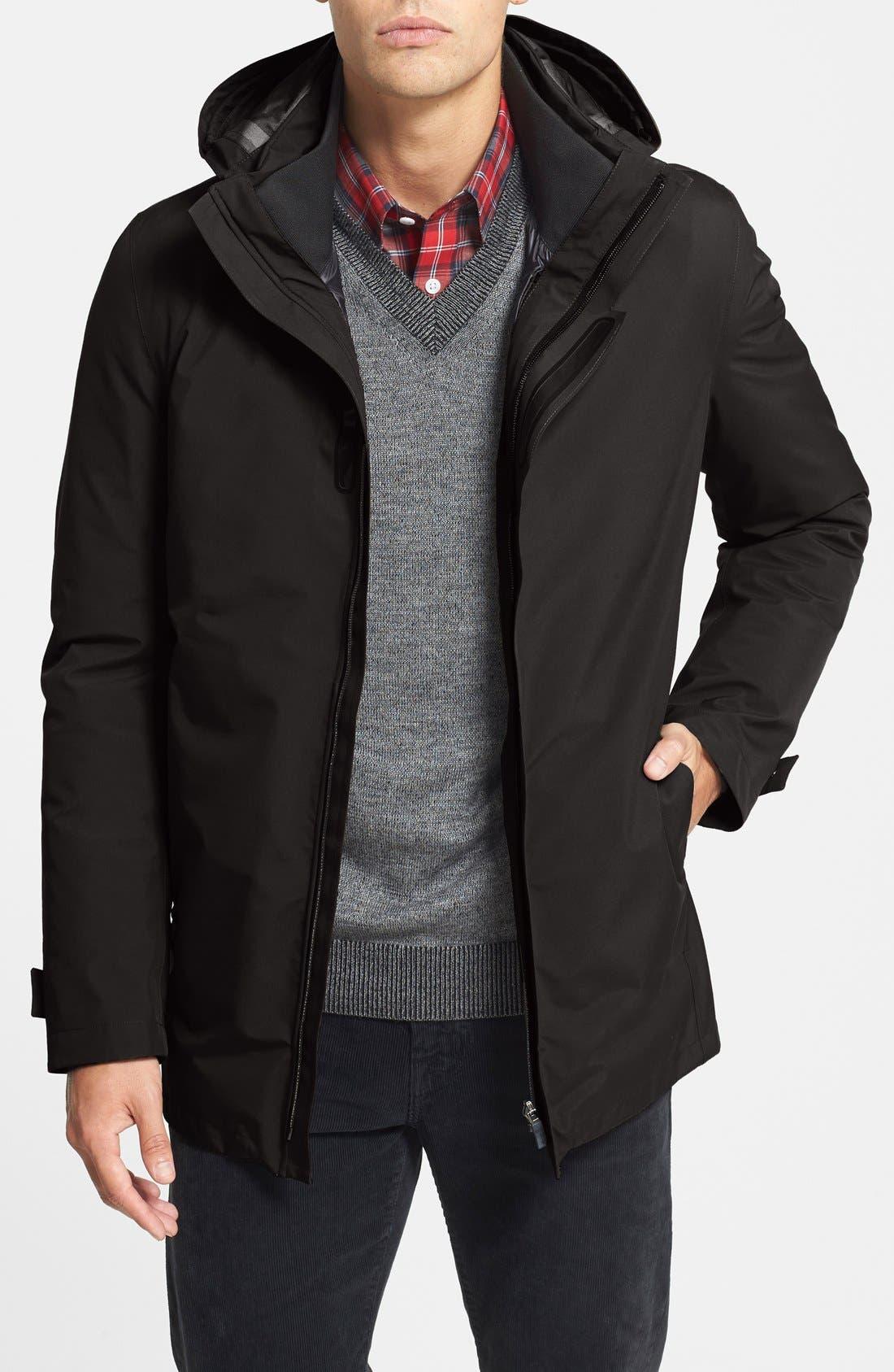 HERNO 'Laminar' Waterproof Gore-Tex<sup>®</sup> 3-in-1 Jacket, Main, color, 001