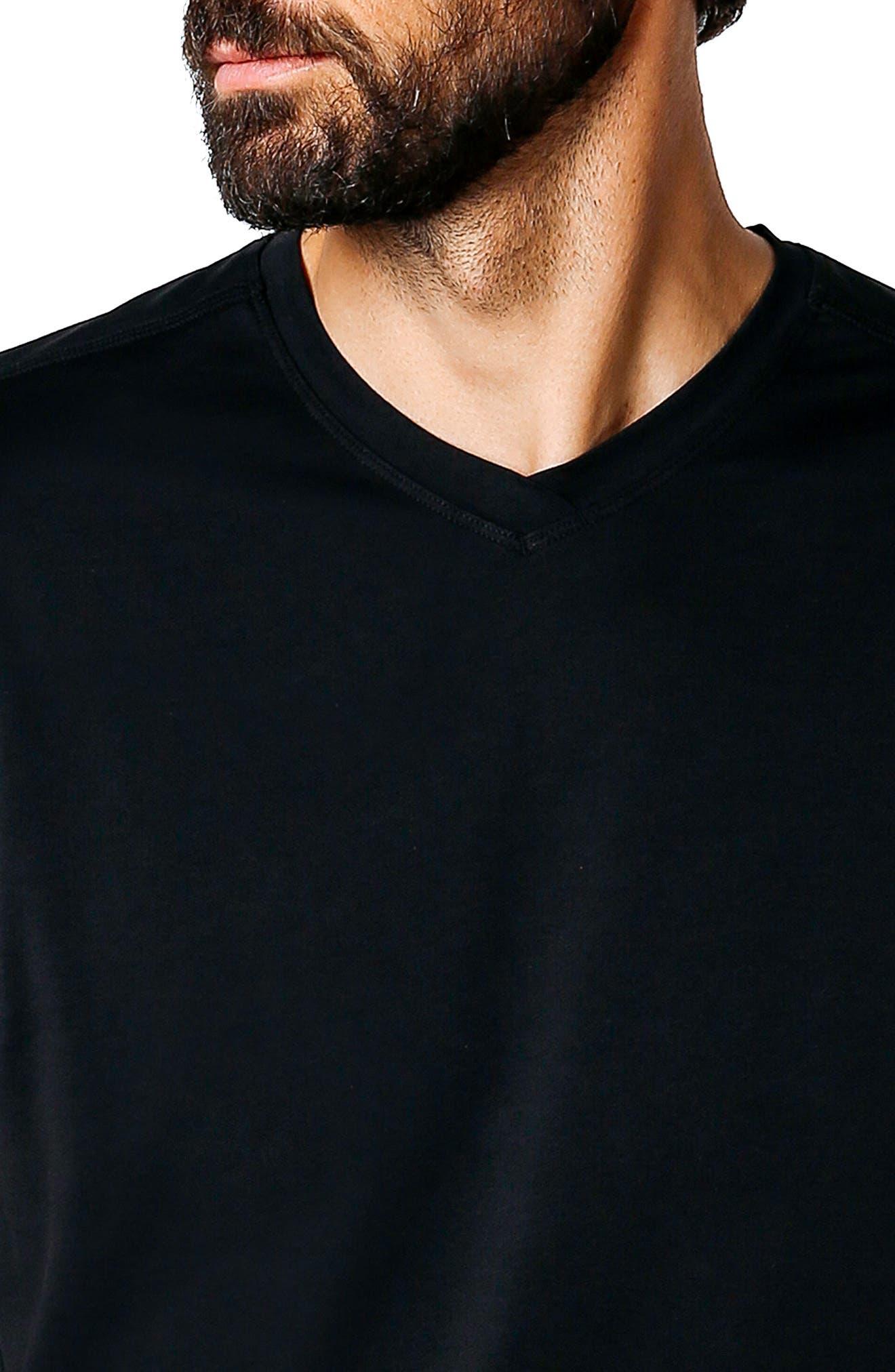 Hi Vee Slim Fit T-Shirt,                             Alternate thumbnail 4, color,                             001