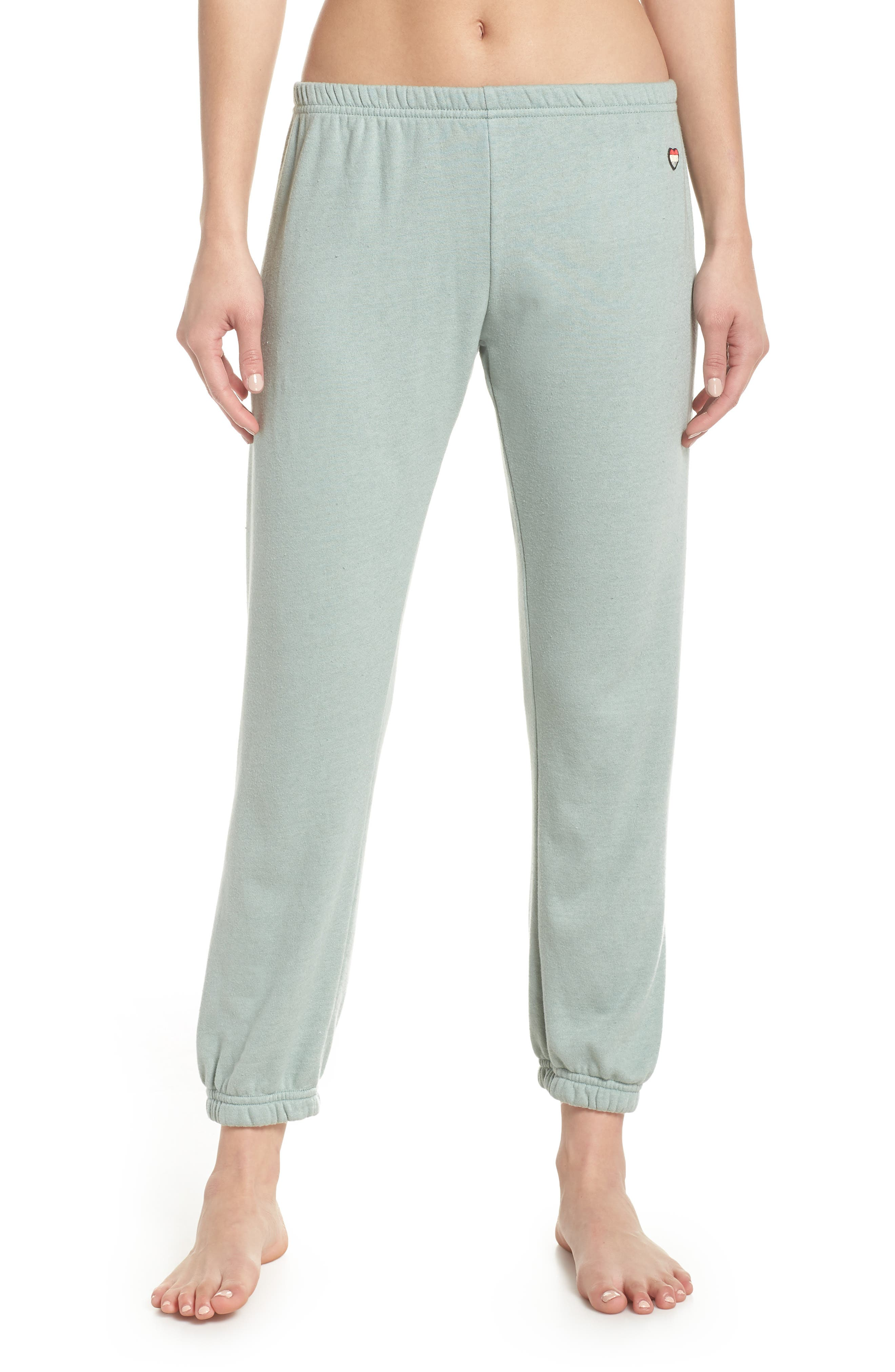 SPIRITUAL GANGSTER Only Love Perfect Sweatpants, Main, color, 314