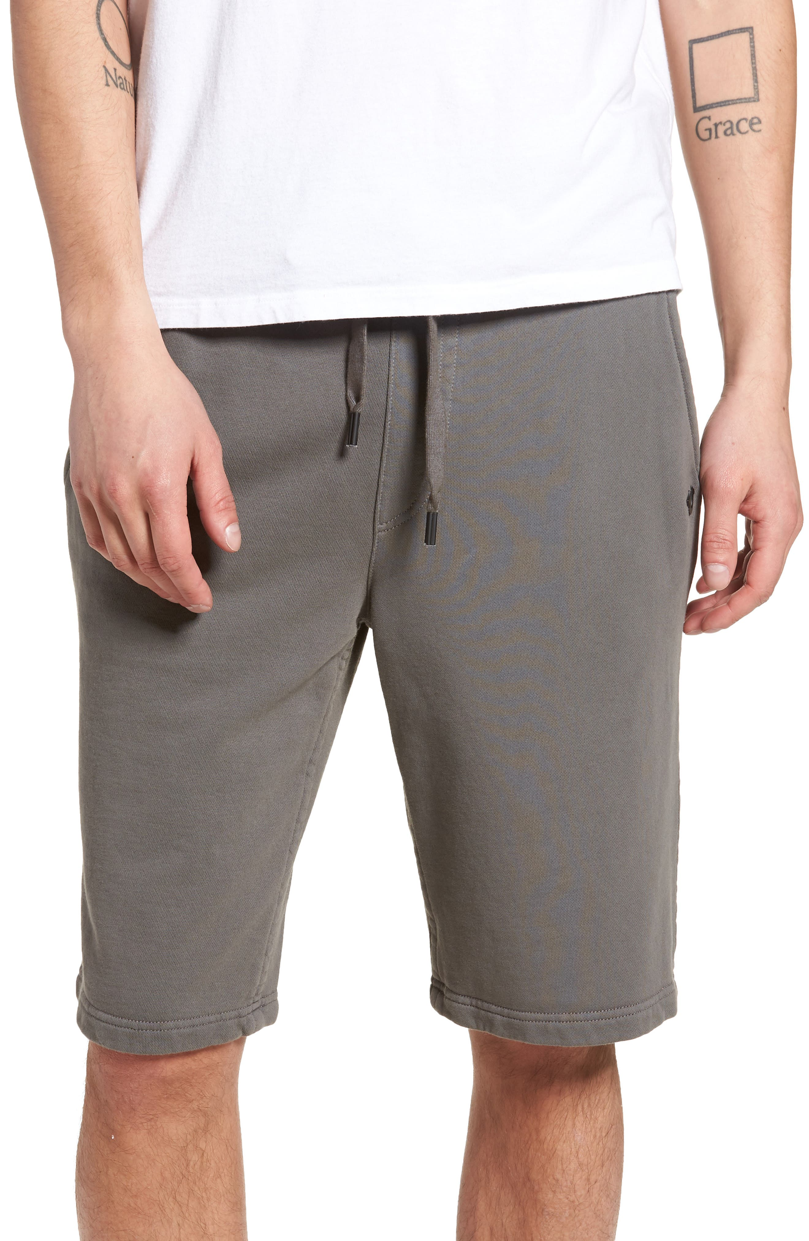 Core Shorts,                             Main thumbnail 1, color,                             CHARCOAL