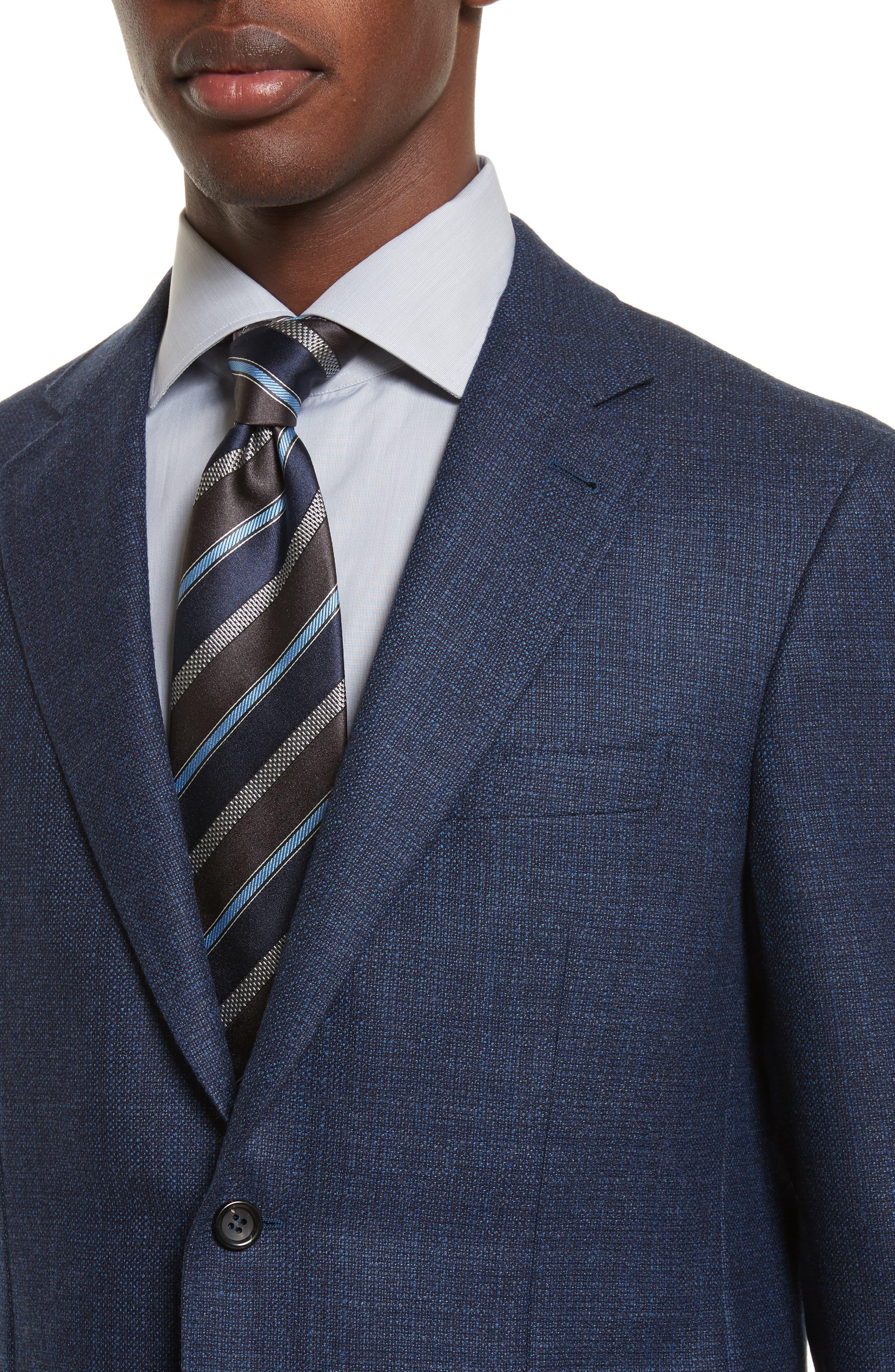Kei Classic Fit Wool Blazer,                             Alternate thumbnail 4, color,                             400