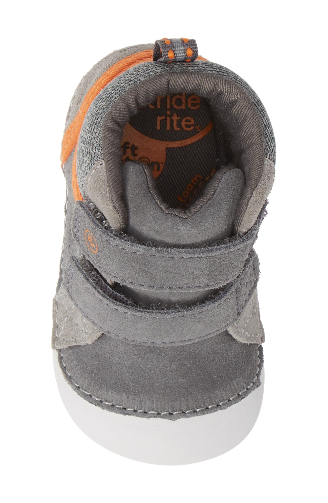 Soft Motion<sup>™</sup> Milo High Top Sneaker,                             Alternate thumbnail 5, color,                             GREY