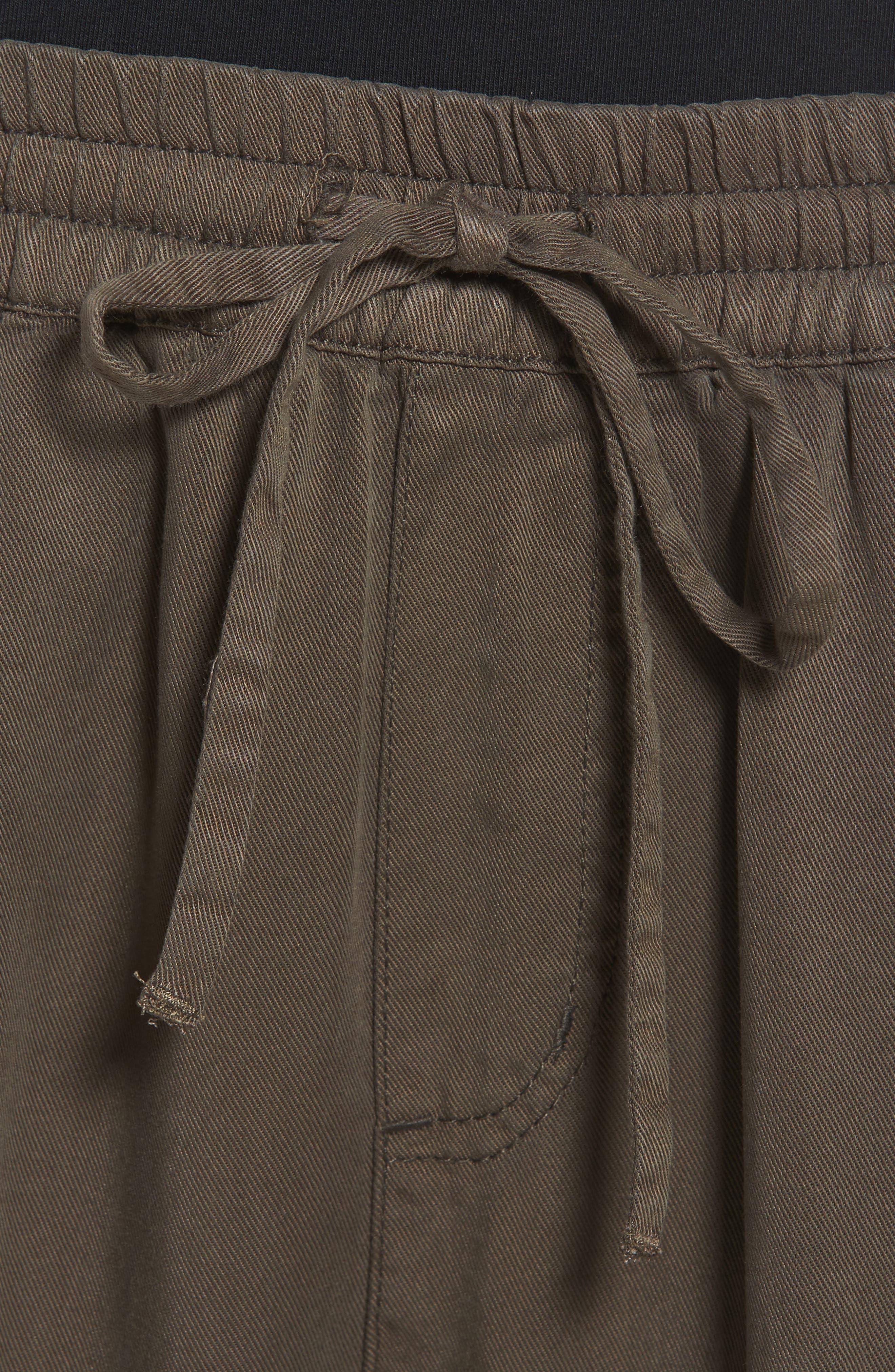Ankle Tie Tencel Pants,                             Alternate thumbnail 4, color,                             307