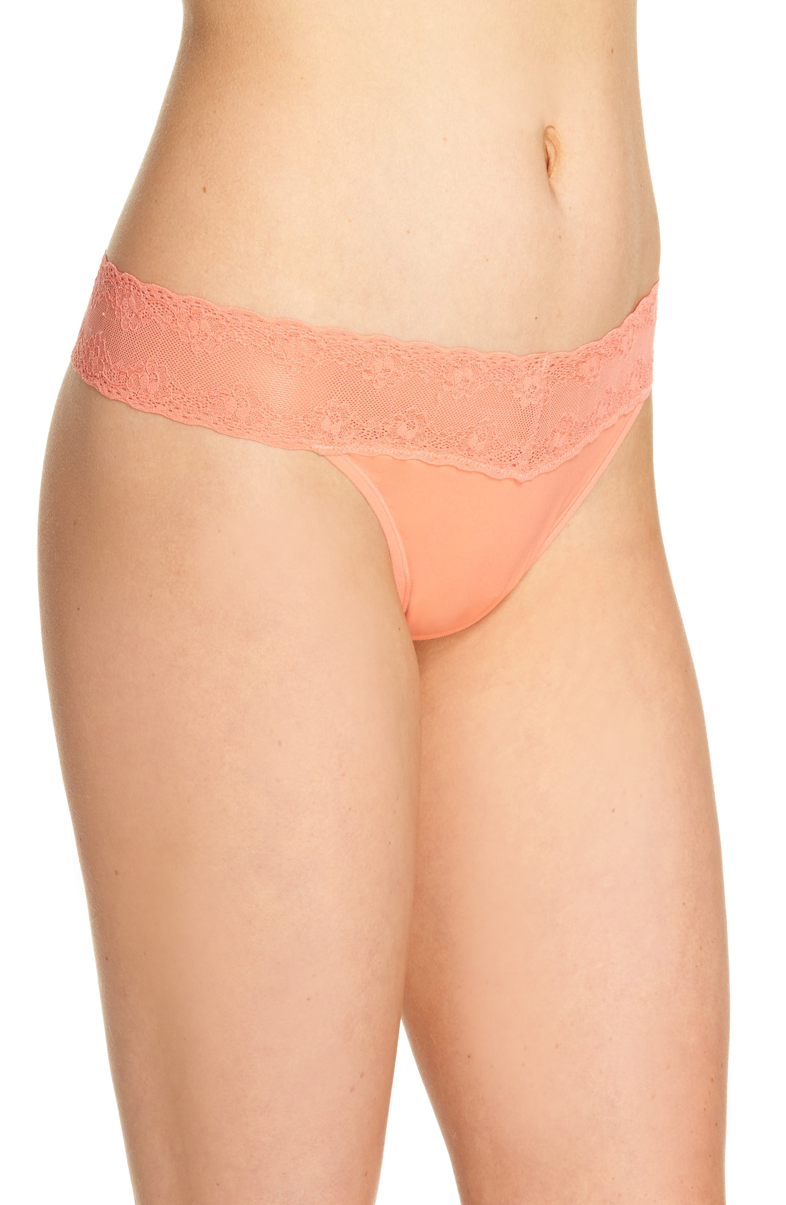 Bliss Perfection Thong,                             Alternate thumbnail 242, color,