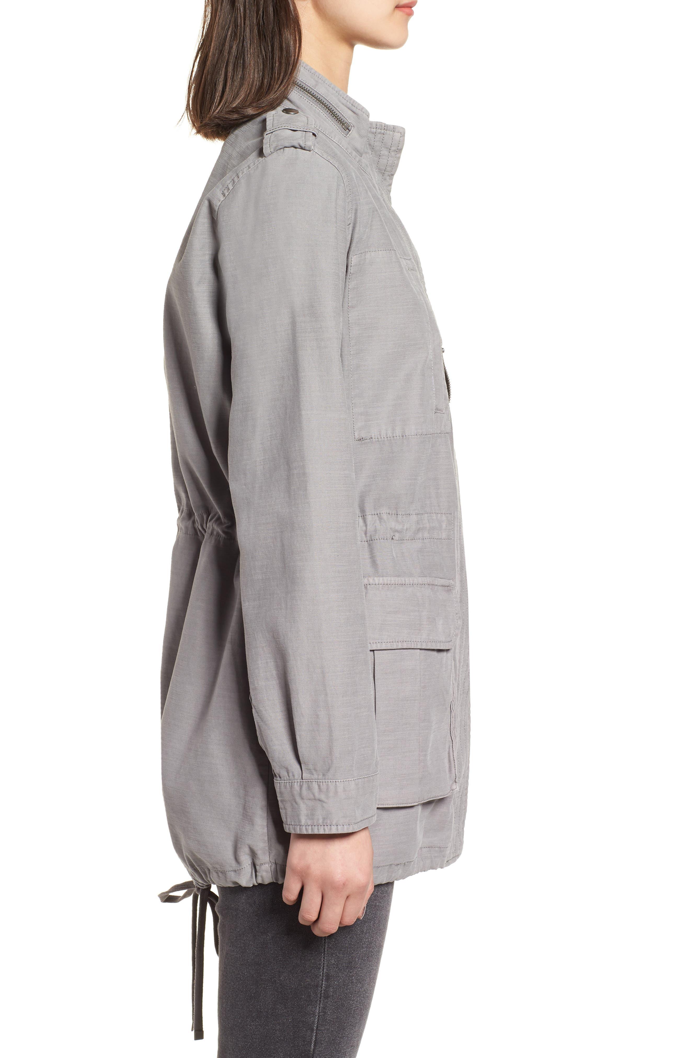 Cotton 4-Pocket Jacket,                             Alternate thumbnail 3, color,                             030