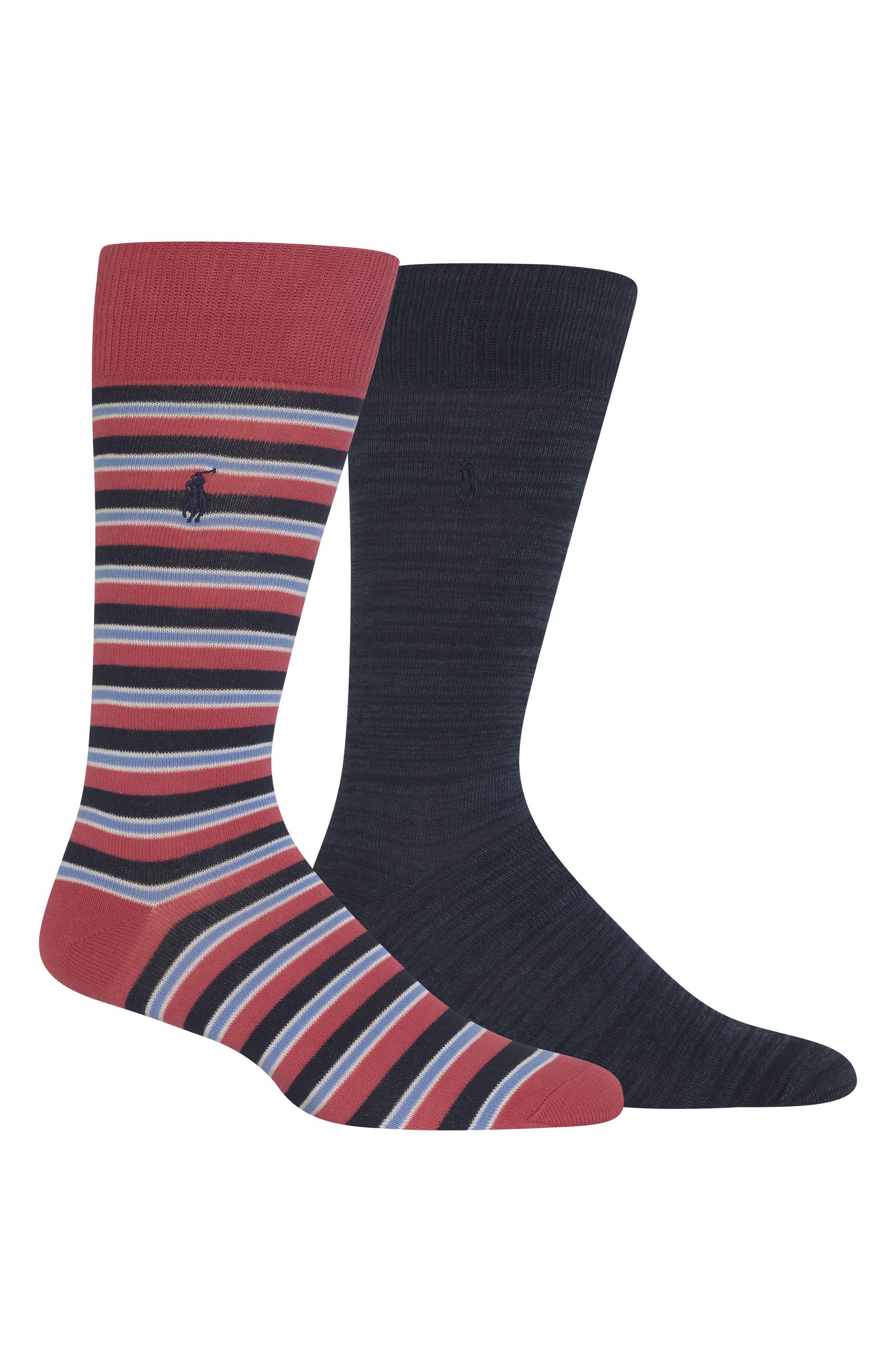 Ralph Lauren 2-Pack Socks,                             Main thumbnail 2, color,