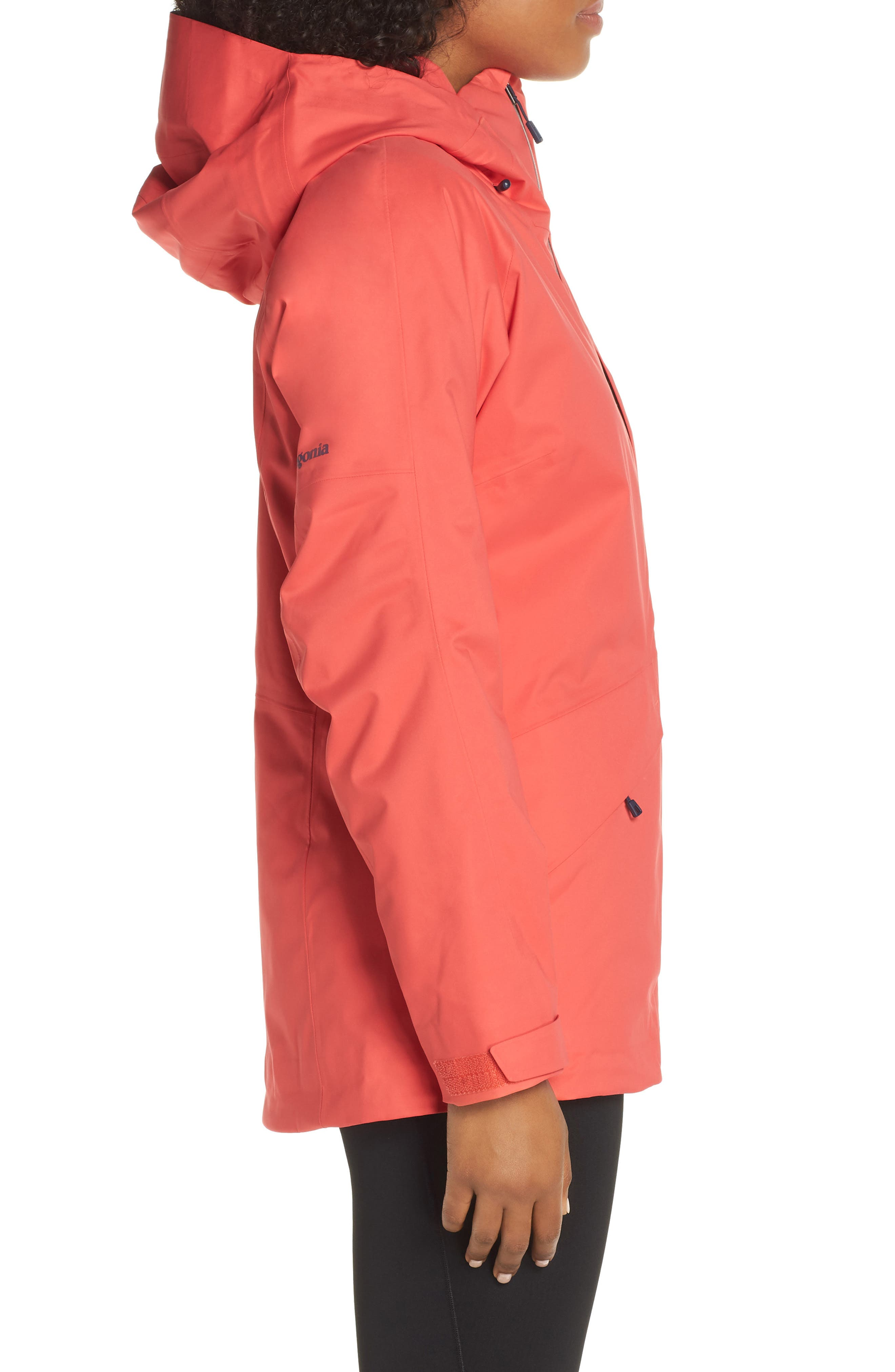 PATAGONIA,                             Snowbelle Insulated Ski Jacket,                             Alternate thumbnail 3, color,                             601
