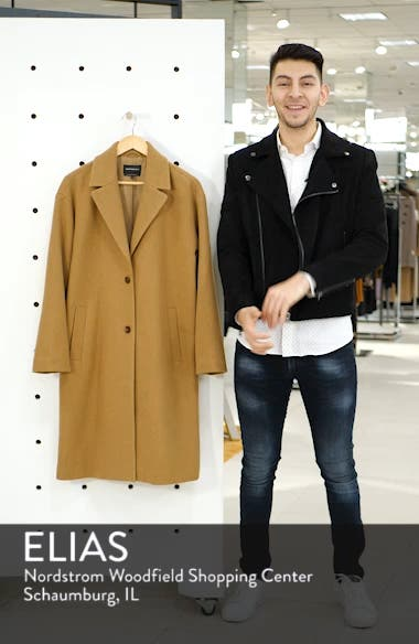 Longline Camel Coat, sales video thumbnail