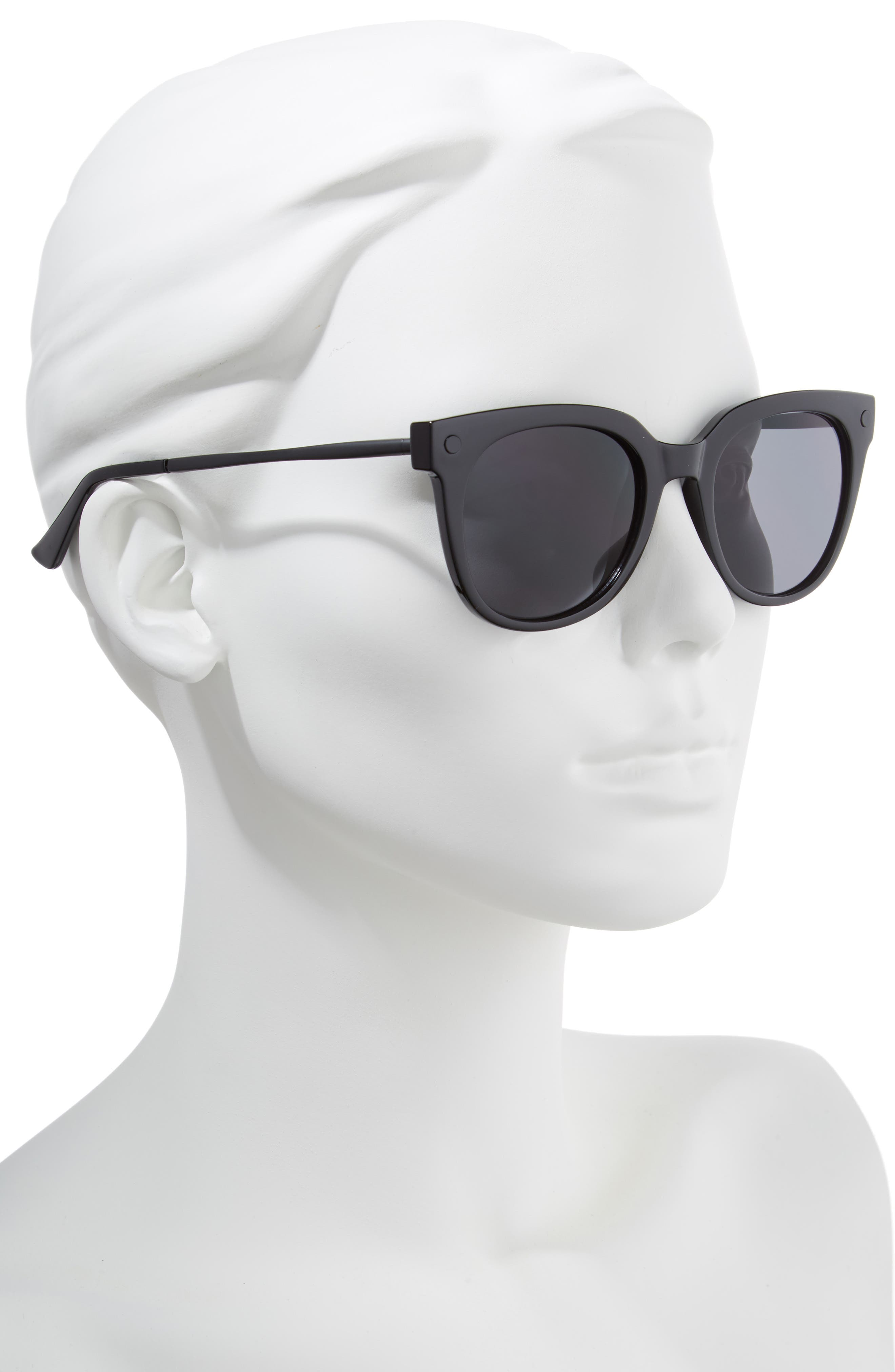 Malabar 52mm Sunglasses,                             Alternate thumbnail 2, color,                             001