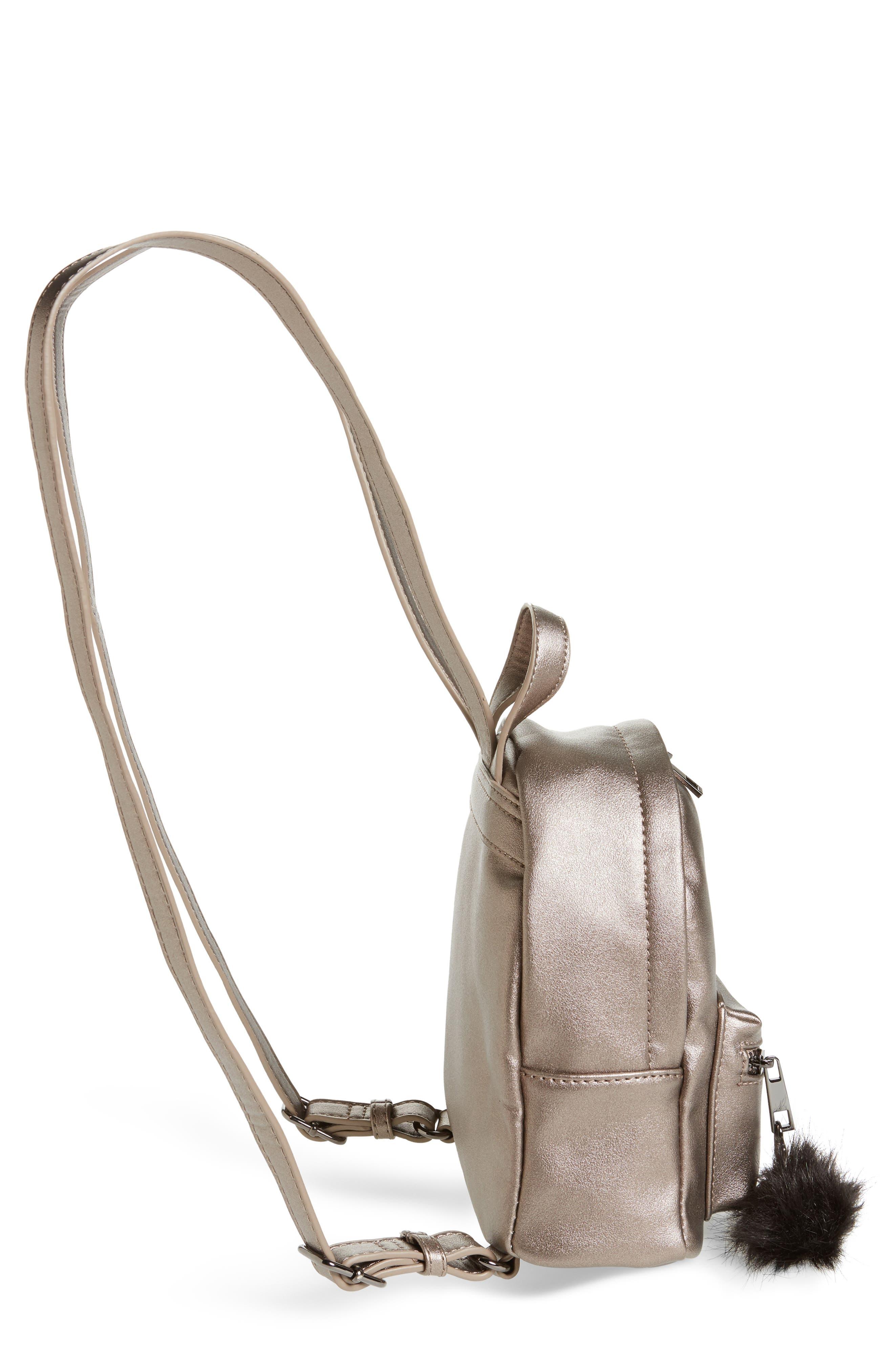 Faux Leather Mini Backpack,                             Alternate thumbnail 34, color,