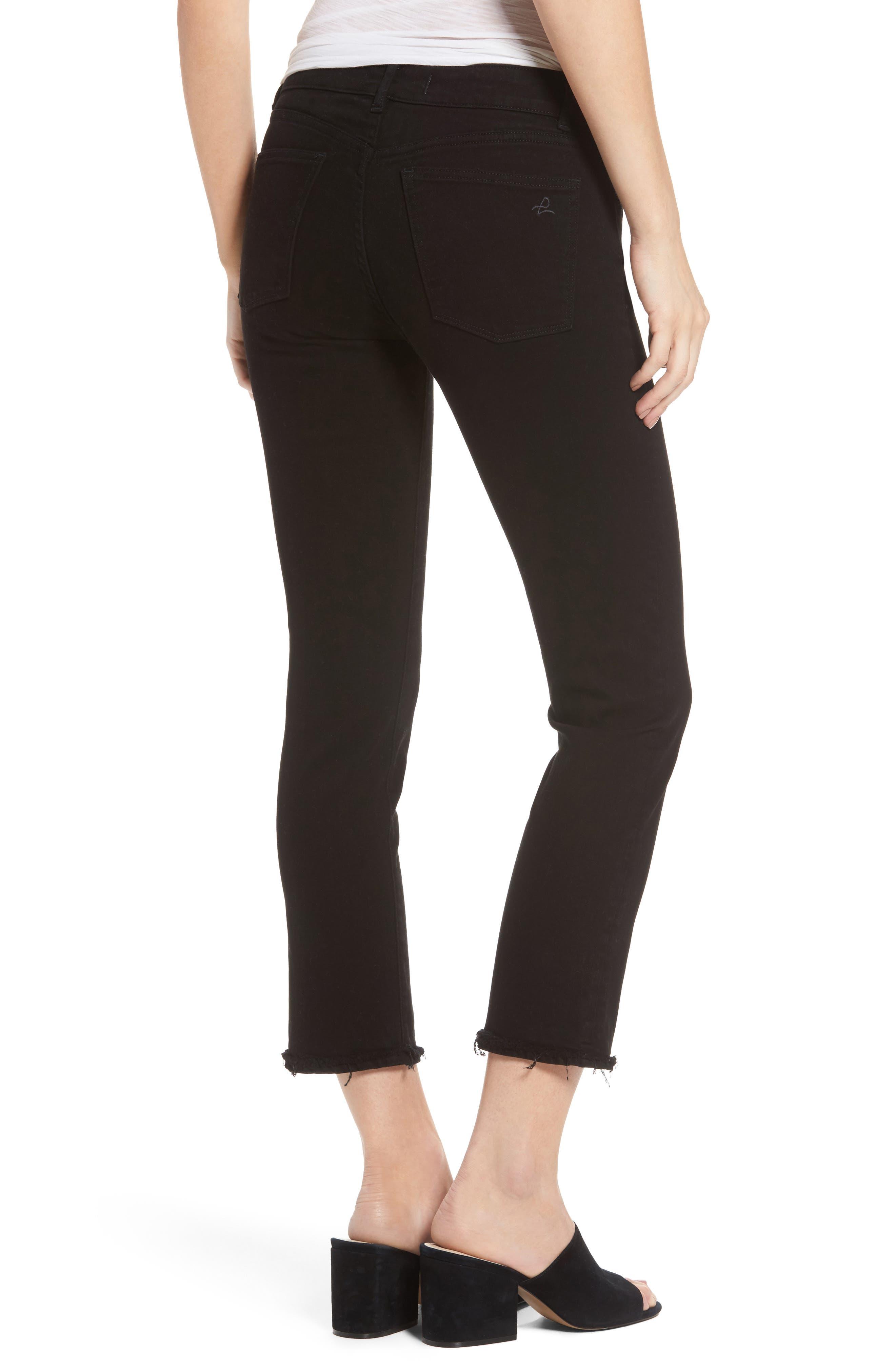 Mara Straight Leg Jeans,                             Alternate thumbnail 2, color,                             001