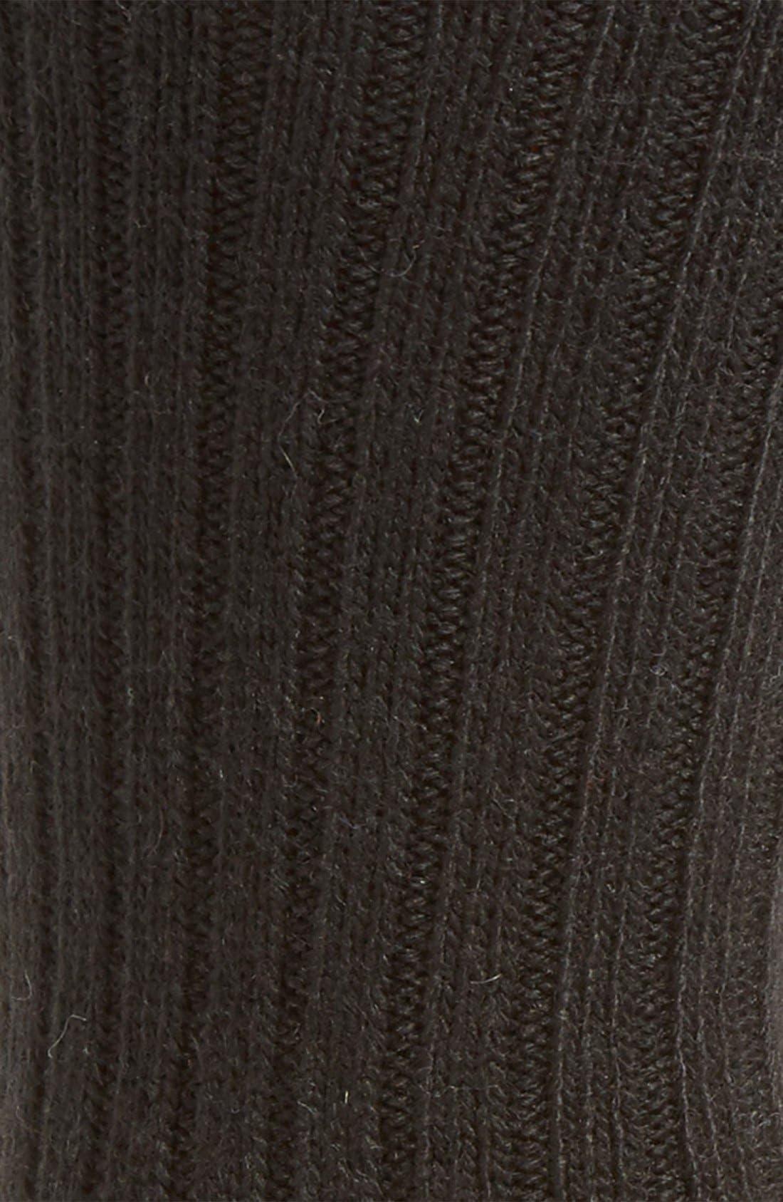 UGG 'Classic' Heathered Socks,                             Alternate thumbnail 2, color,                             001
