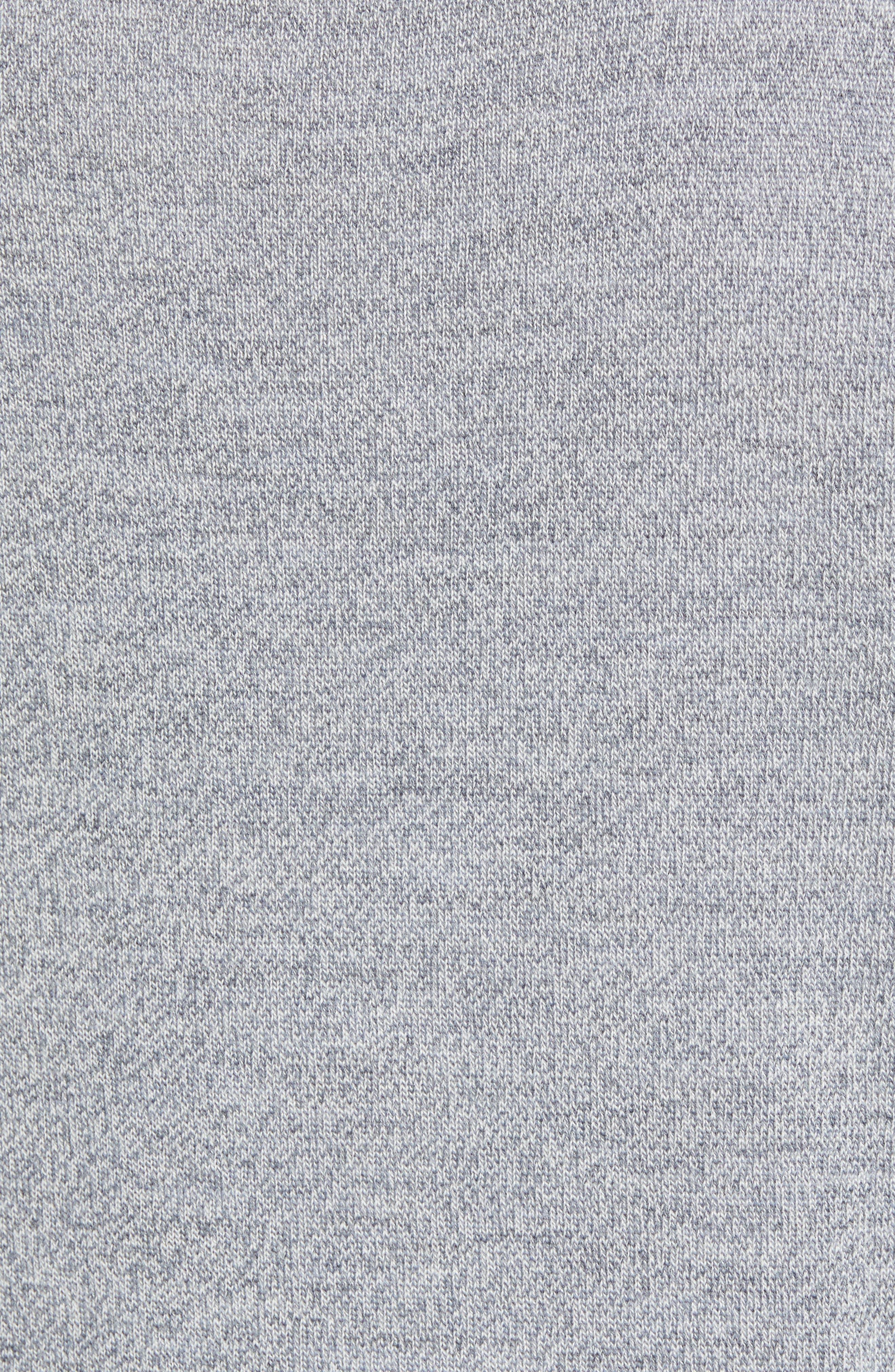 Slim Fit V-Neck Merino Wool Sweater,                             Alternate thumbnail 5, color,                             020
