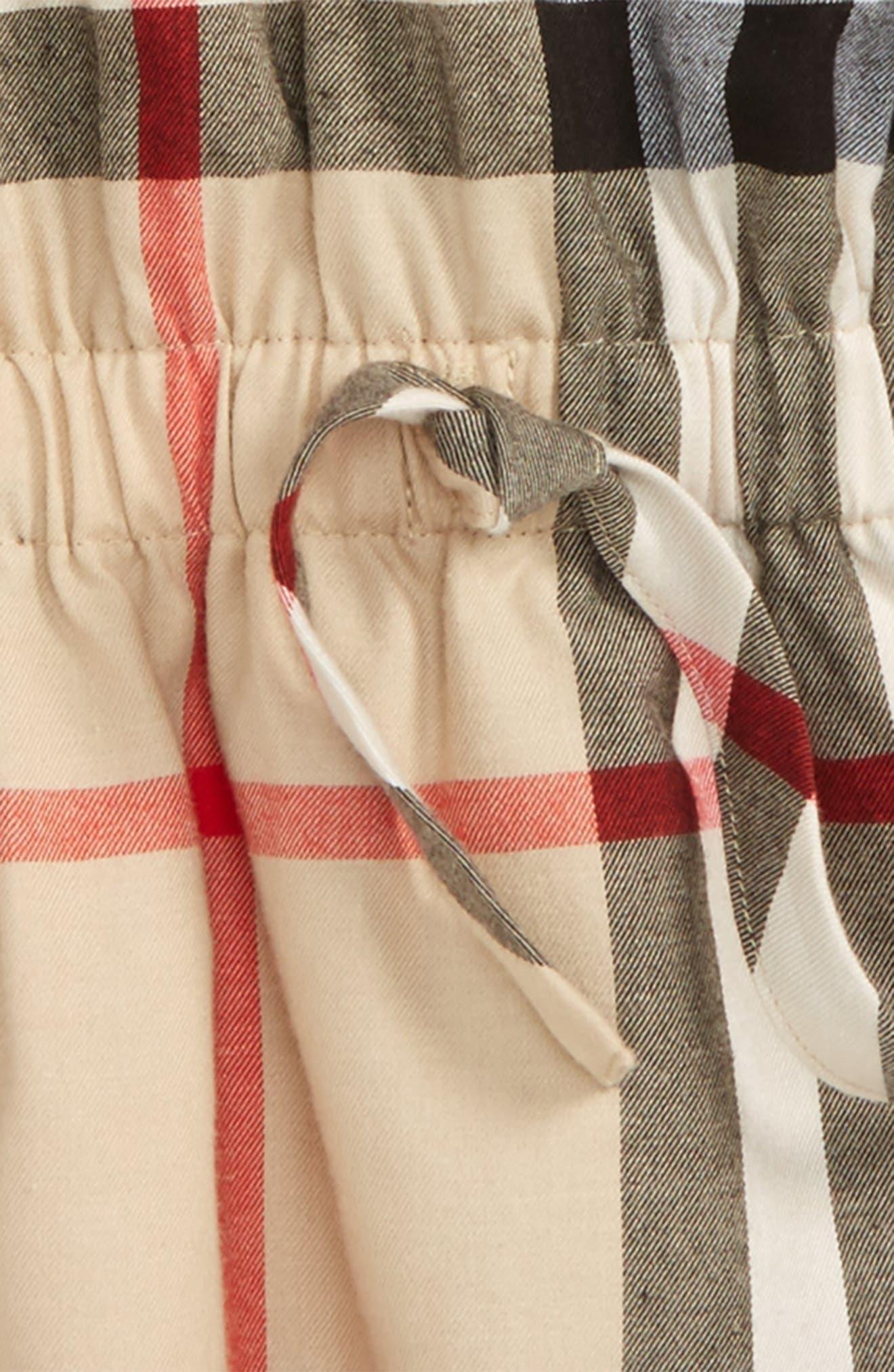Mini Kadyann Check Flannel Dress,                             Alternate thumbnail 2, color,                             272