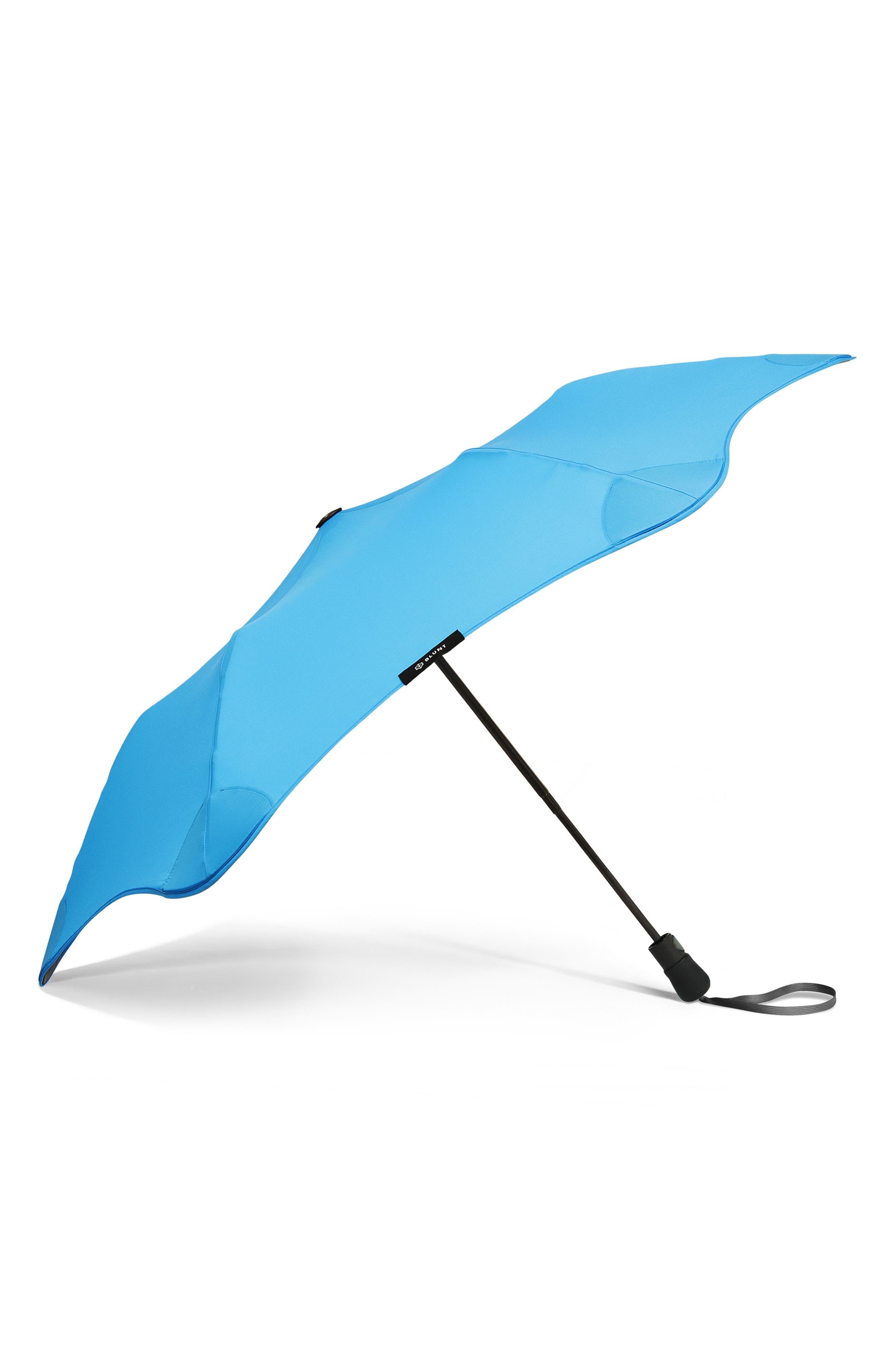 Metro Umbrella,                             Main thumbnail 1, color,                             AQUA BLUE