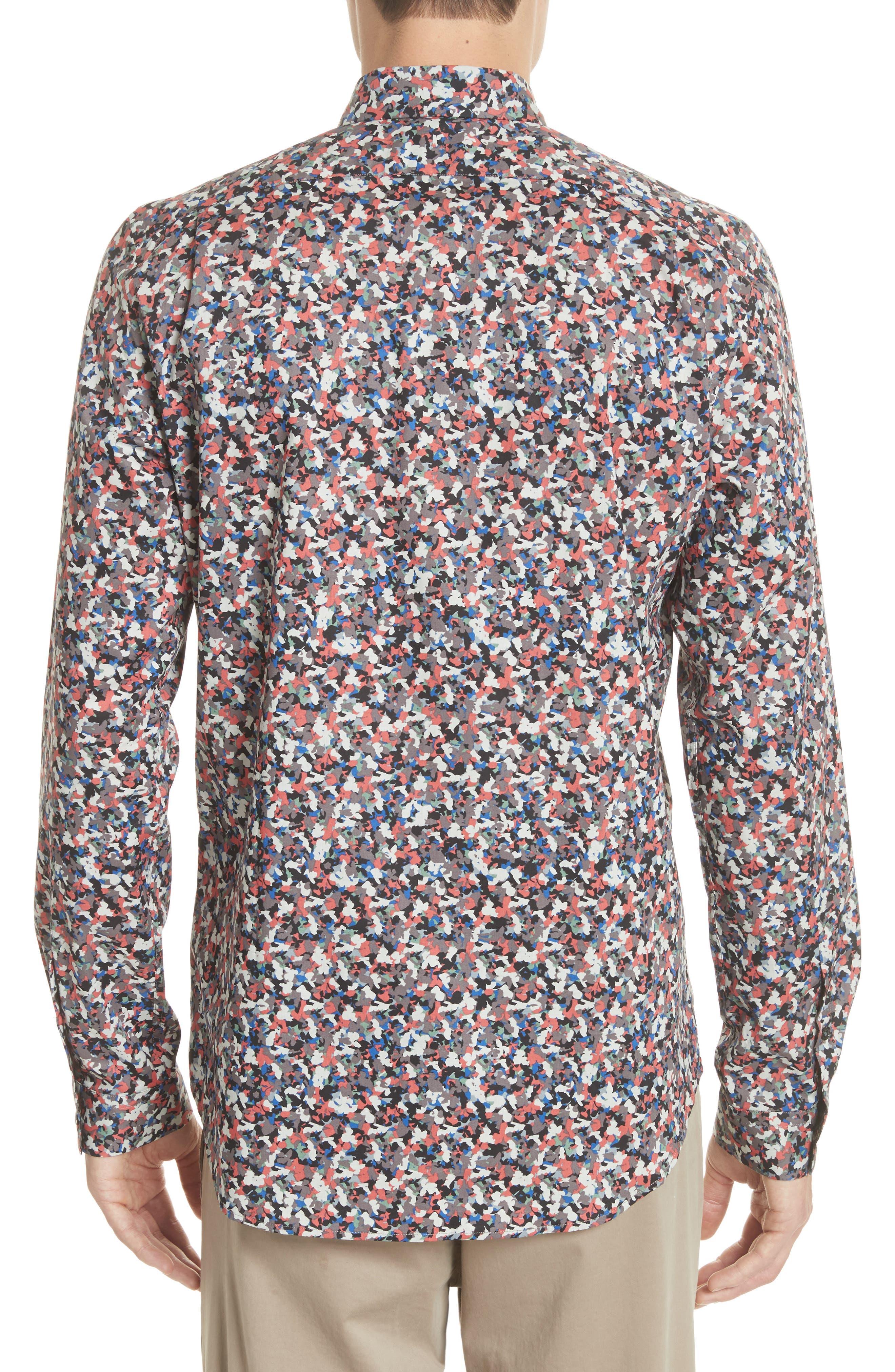 Tailored Print Shirt,                             Alternate thumbnail 2, color,                             813