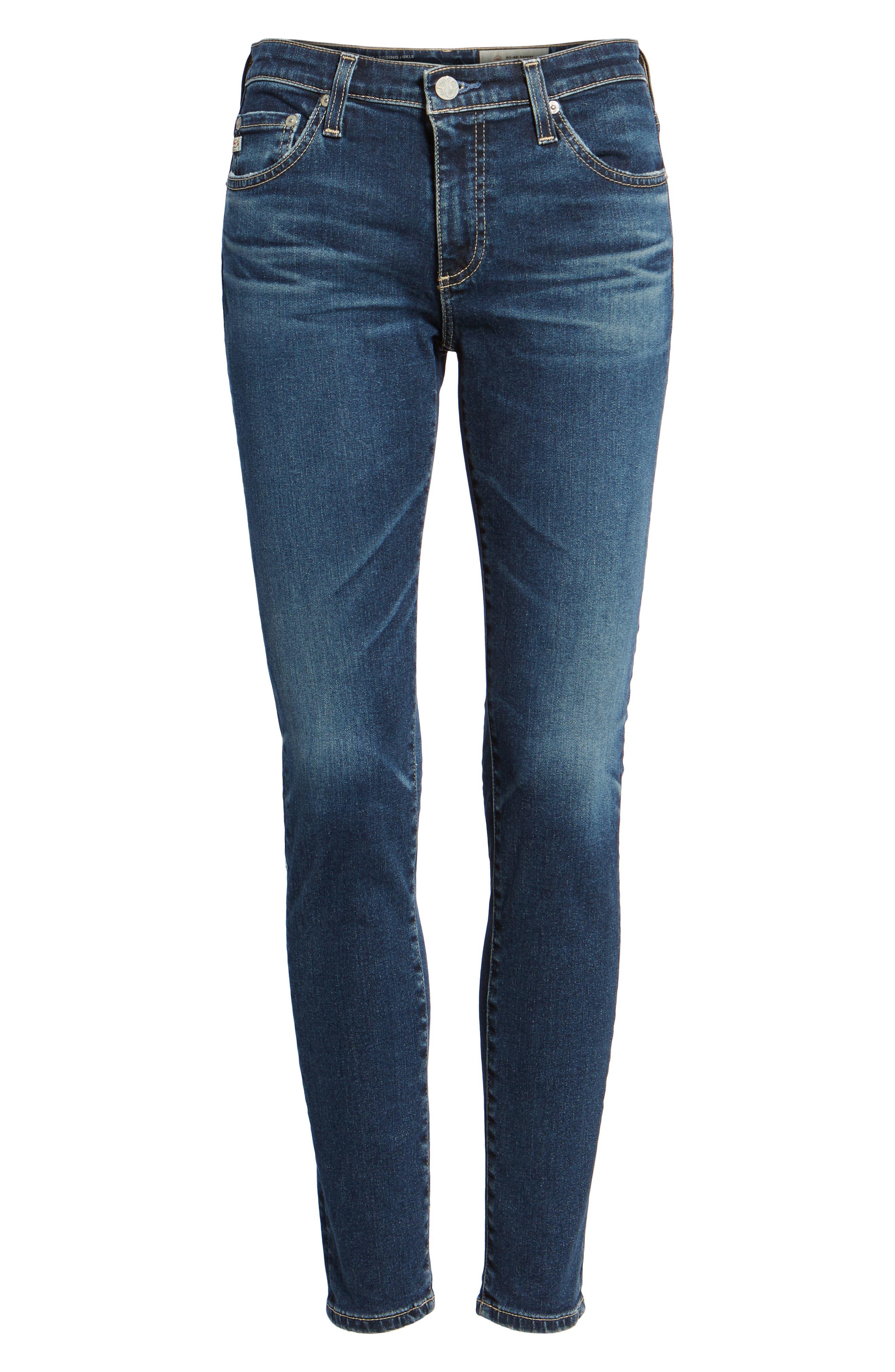 The Legging Ankle Super Skinny Jeans,                             Alternate thumbnail 7, color,                             10Y TRANSCENDANCE
