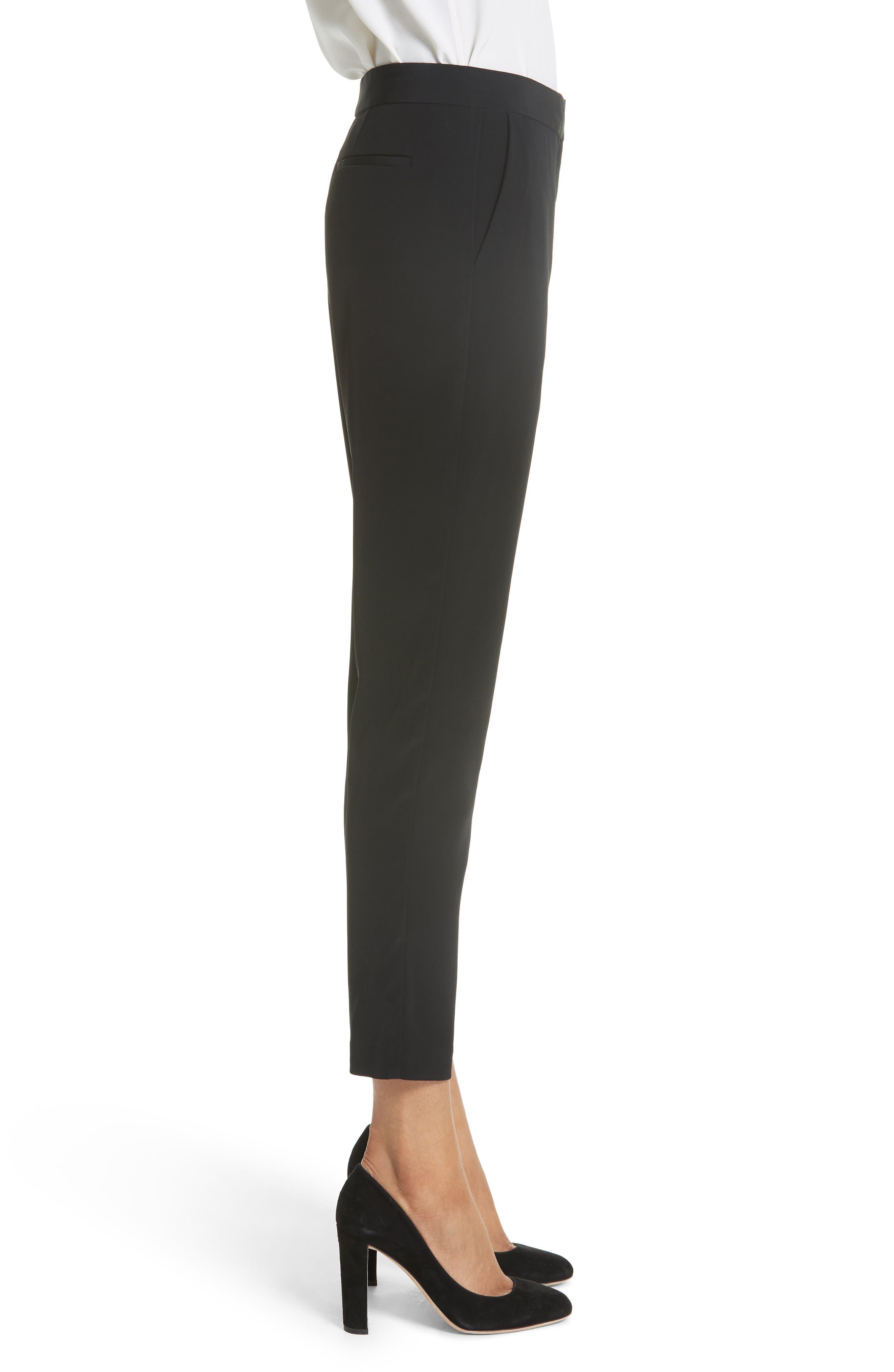 CO,                             Essentials Skinny Pants,                             Alternate thumbnail 3, color,                             BLACK