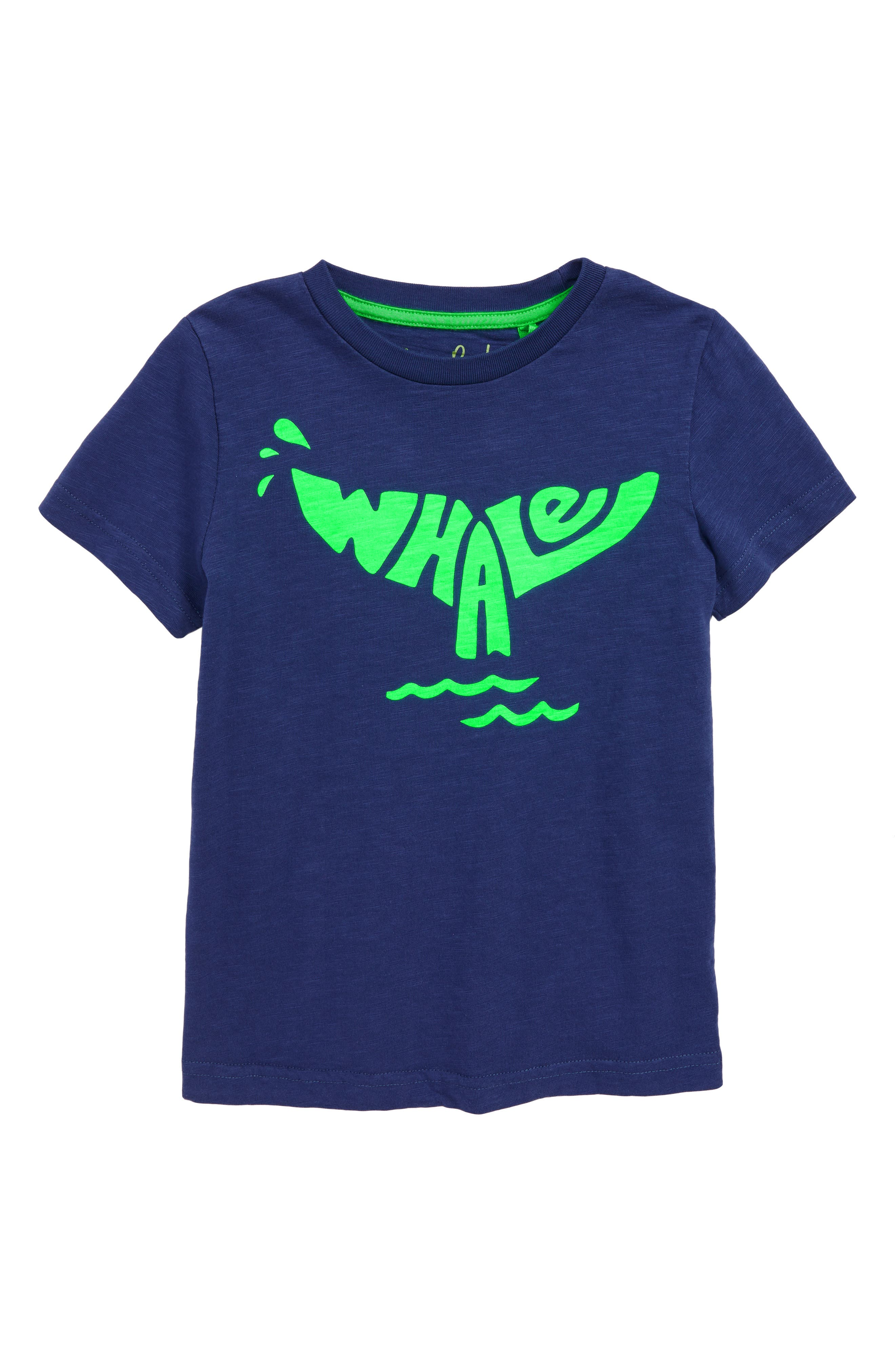 Fluoro Whale T-Shirt,                         Main,                         color, 414