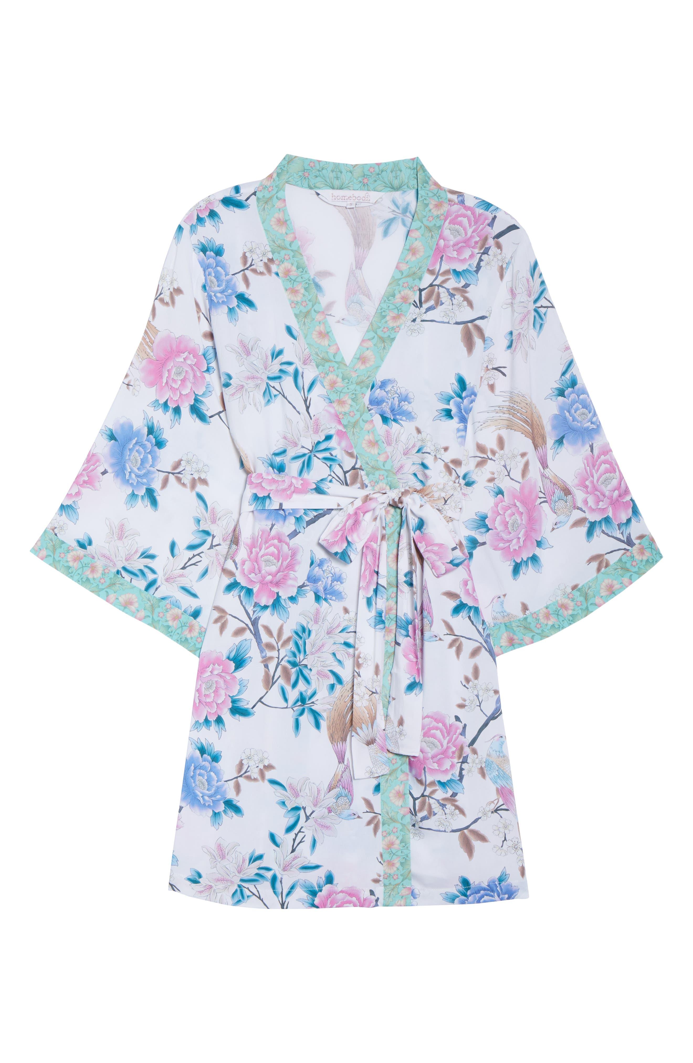 Talulah Boho Short Robe,                             Alternate thumbnail 6, color,                             900