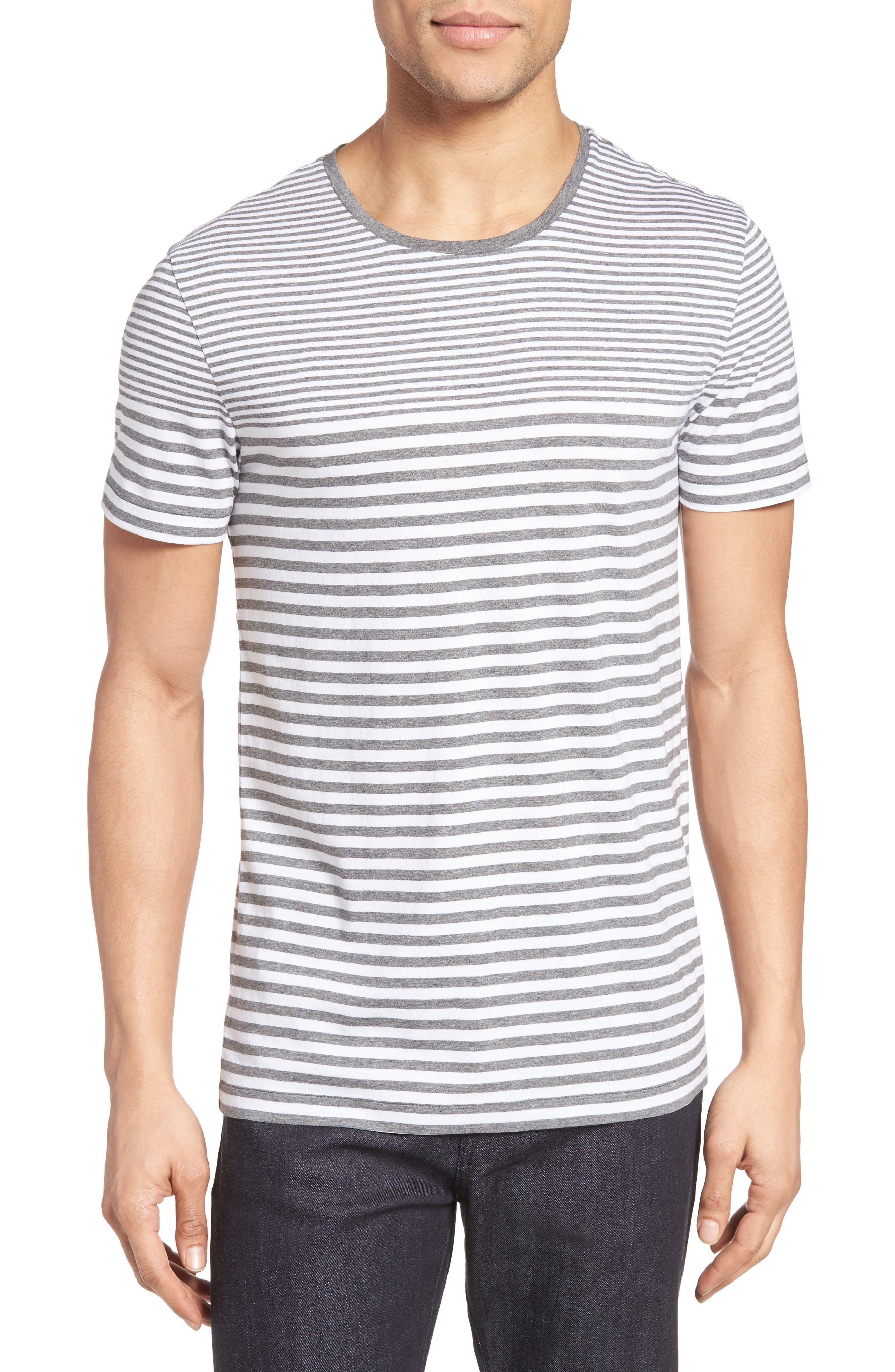 Tessler Slim Fit Stripe T-Shirt,                             Main thumbnail 1, color,