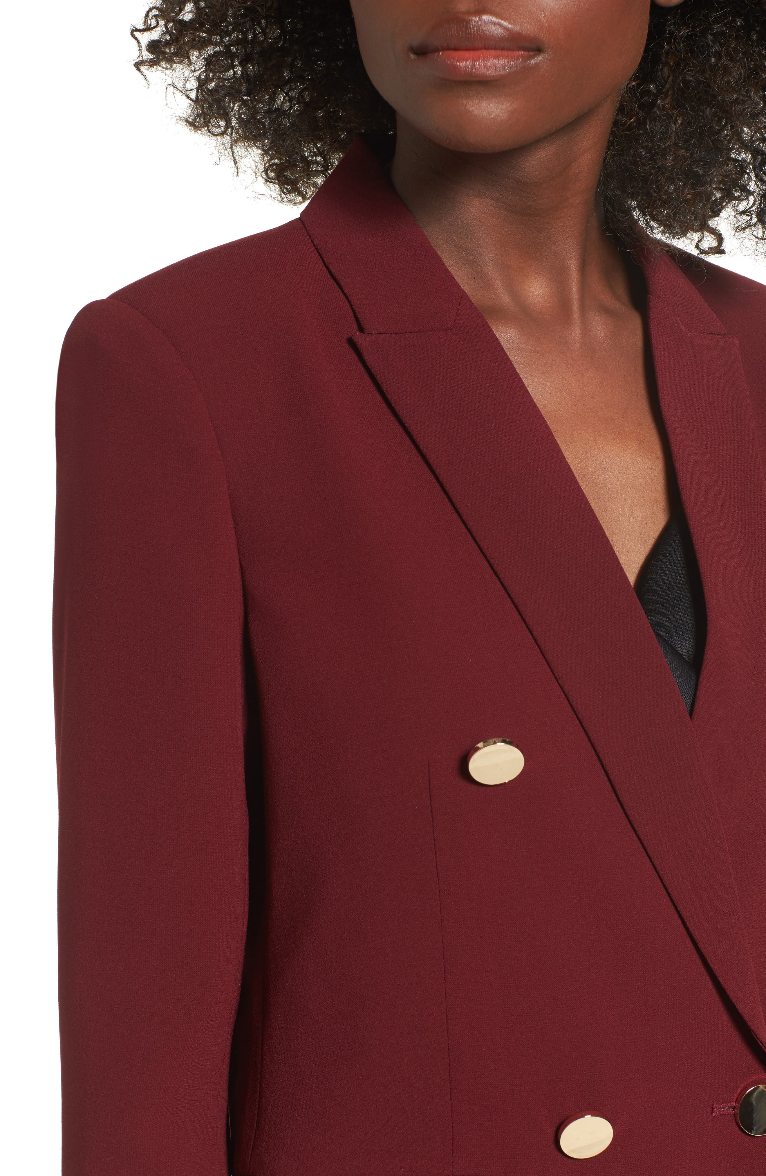 Oversize Double Breasted Blazer,                             Alternate thumbnail 8, color,
