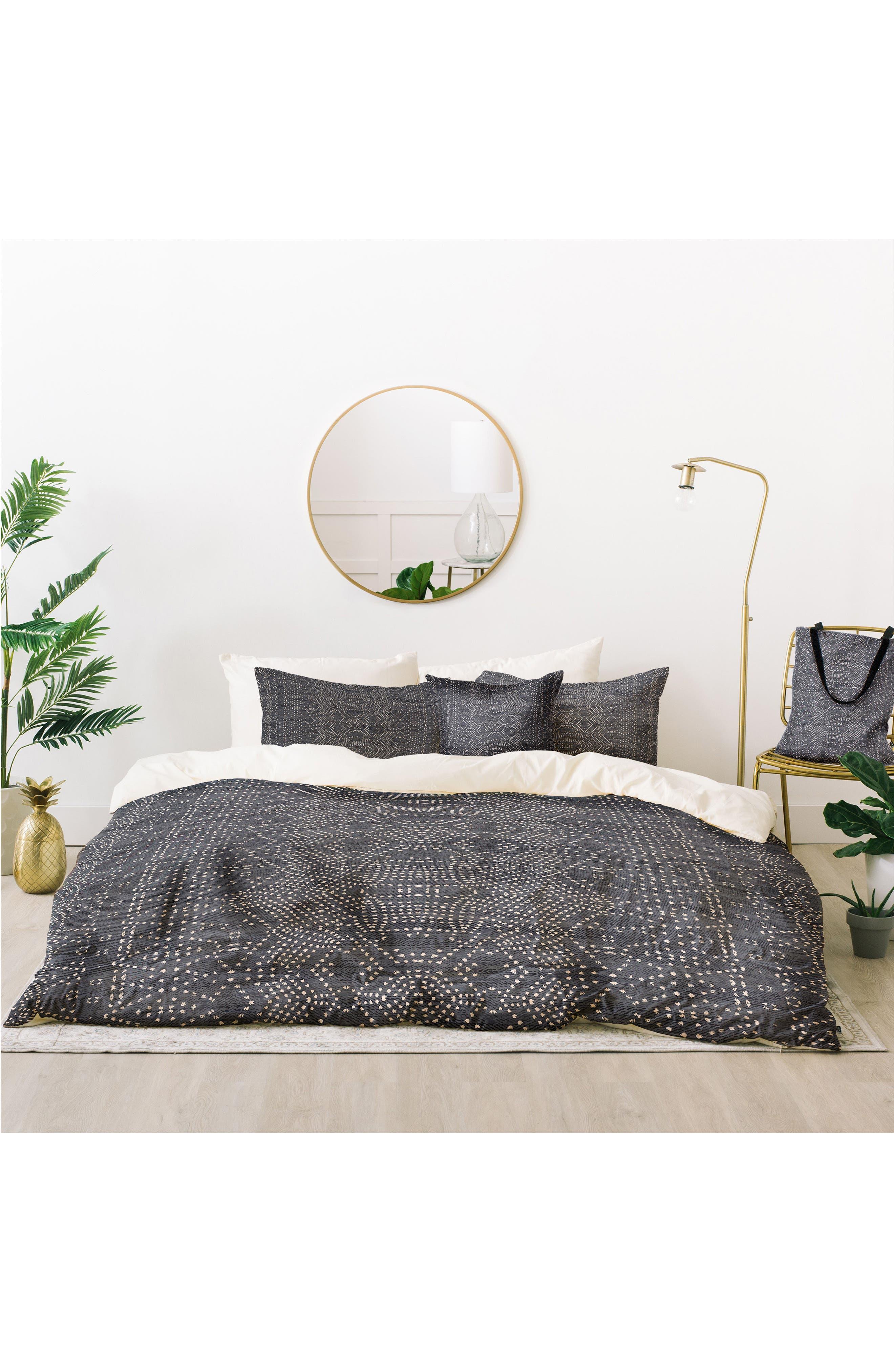 Holli Zollinger Marrakeshi Denim Bed in a Bag Duvet Cover, Sham & Accent Pillow Set,                         Main,                         color, 020