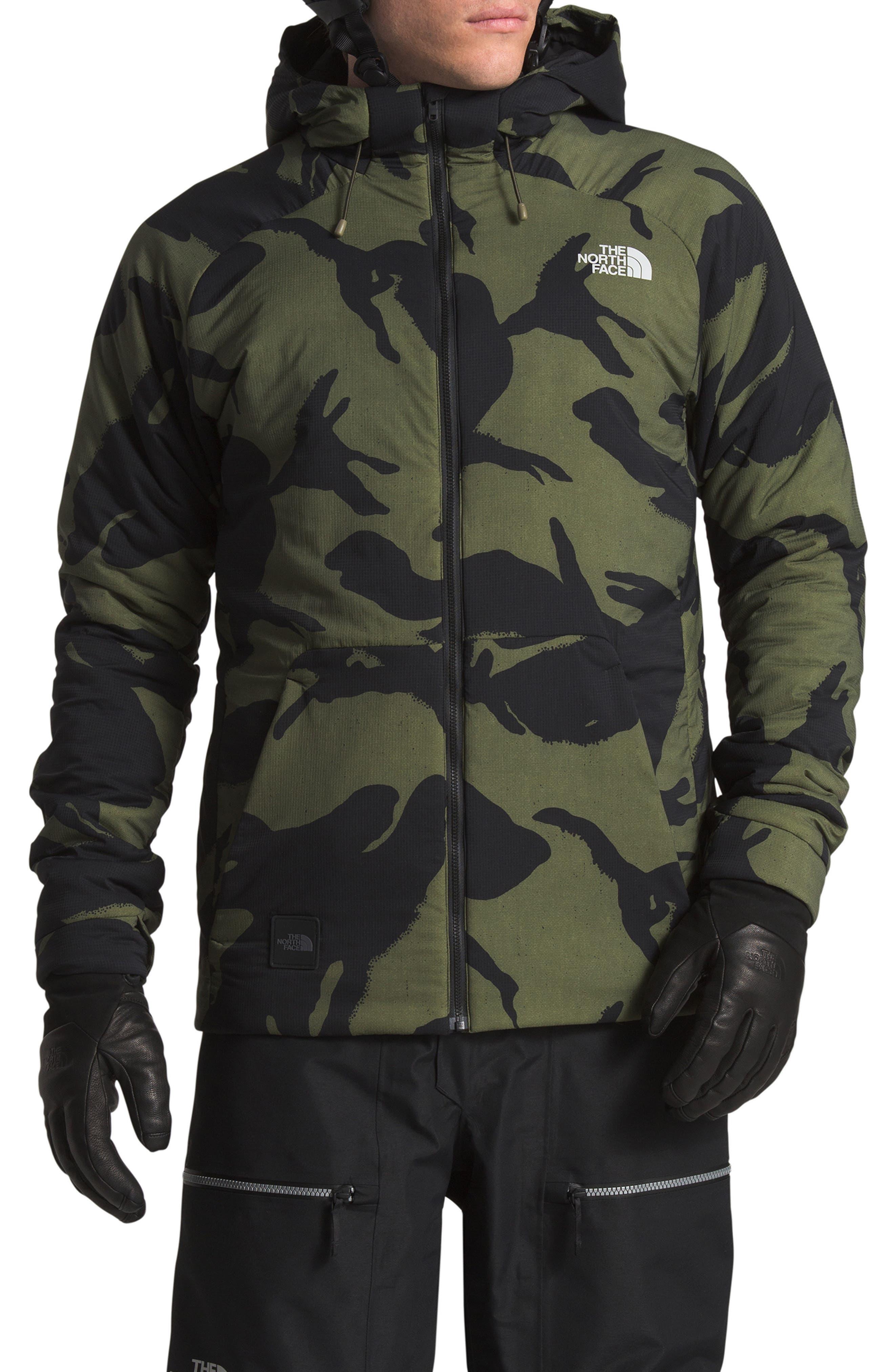 Lodgefather Ventrix<sup>™</sup> Ski Jacket, Main, color, BURNT OLIVE GREEN DISRUPT