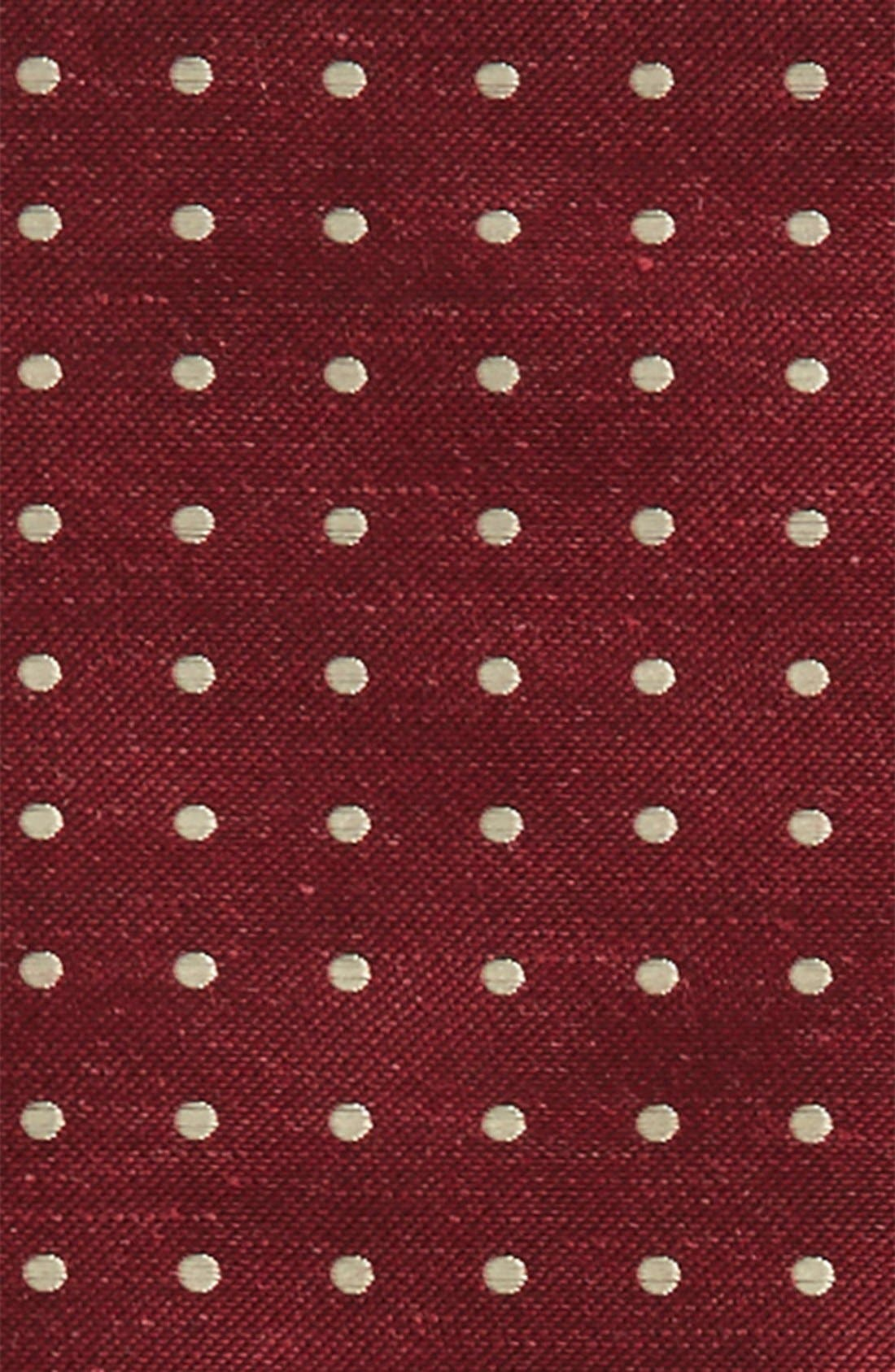 Dot Silk & Linen Pocket Square,                             Alternate thumbnail 3, color,                             603