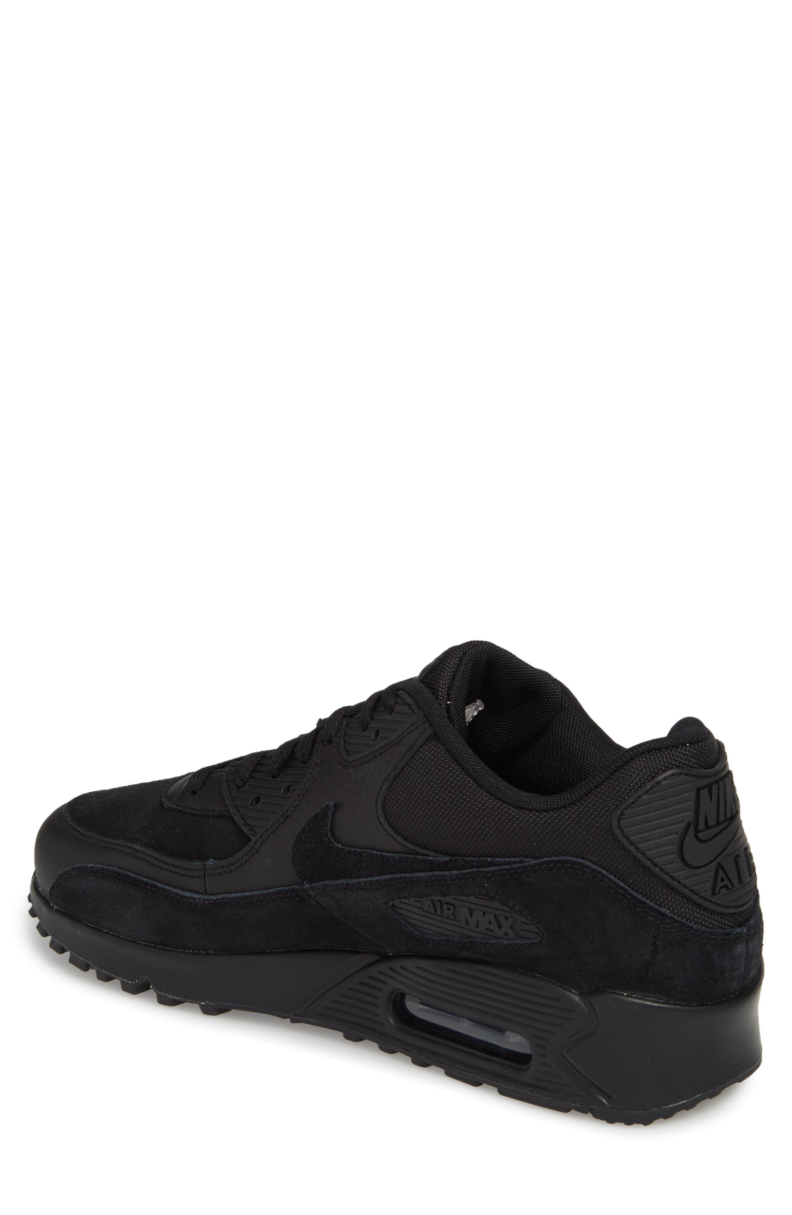 Air Max 90 Premium Sneaker,                             Alternate thumbnail 2, color,                             012