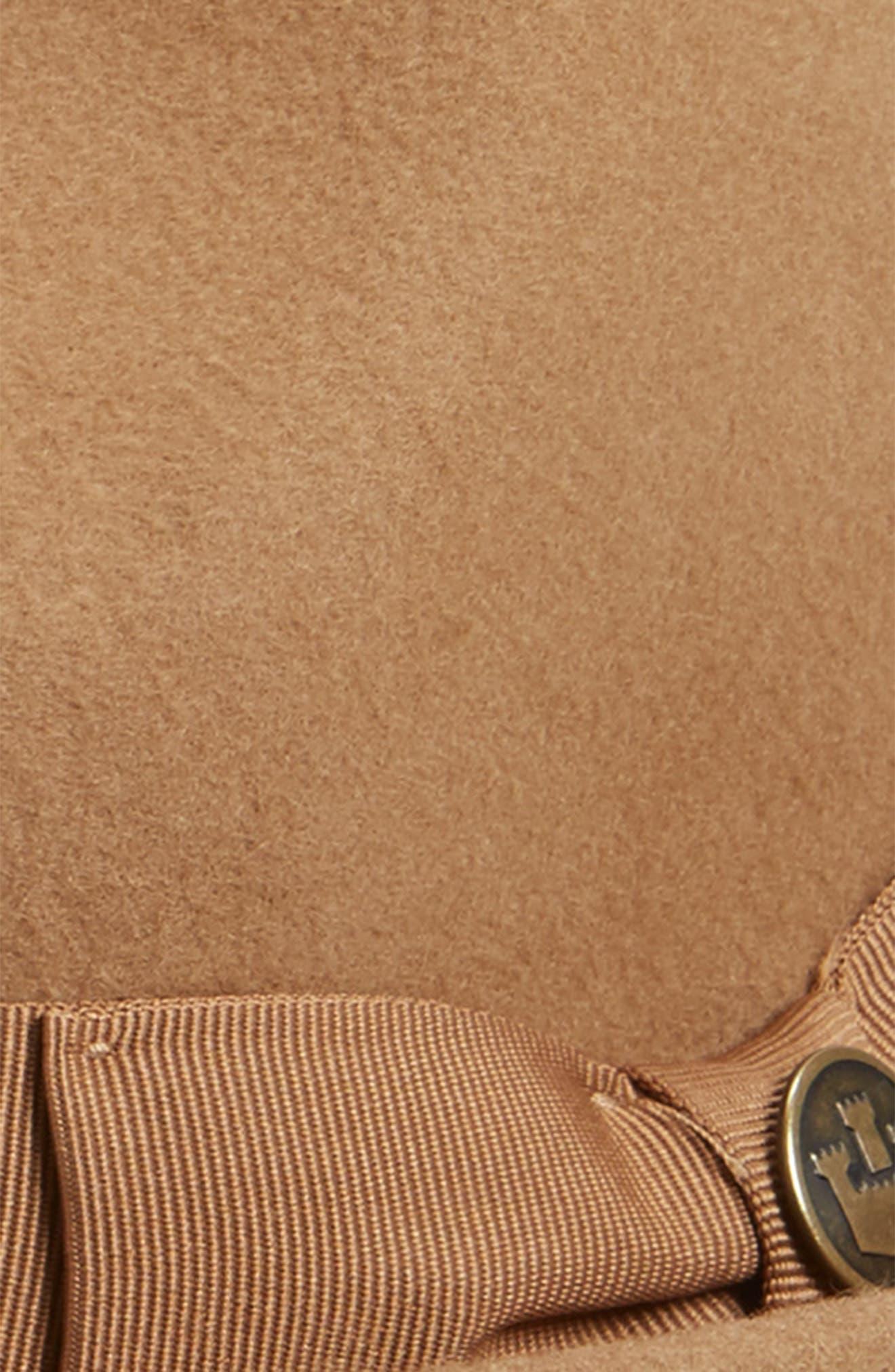 The Good Boy Felt Wool Fedora,                             Alternate thumbnail 2, color,                             CAMEL