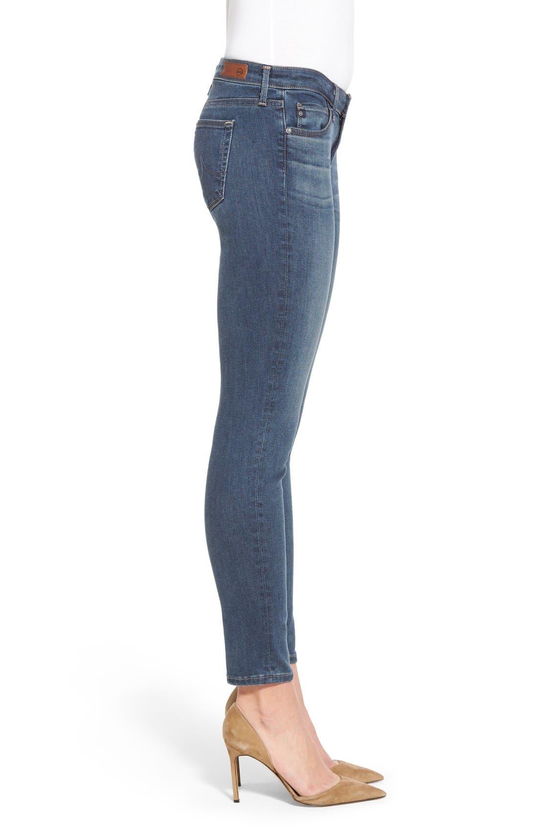 The Legging Ankle Super Skinny Jeans,                             Alternate thumbnail 2, color,                             401