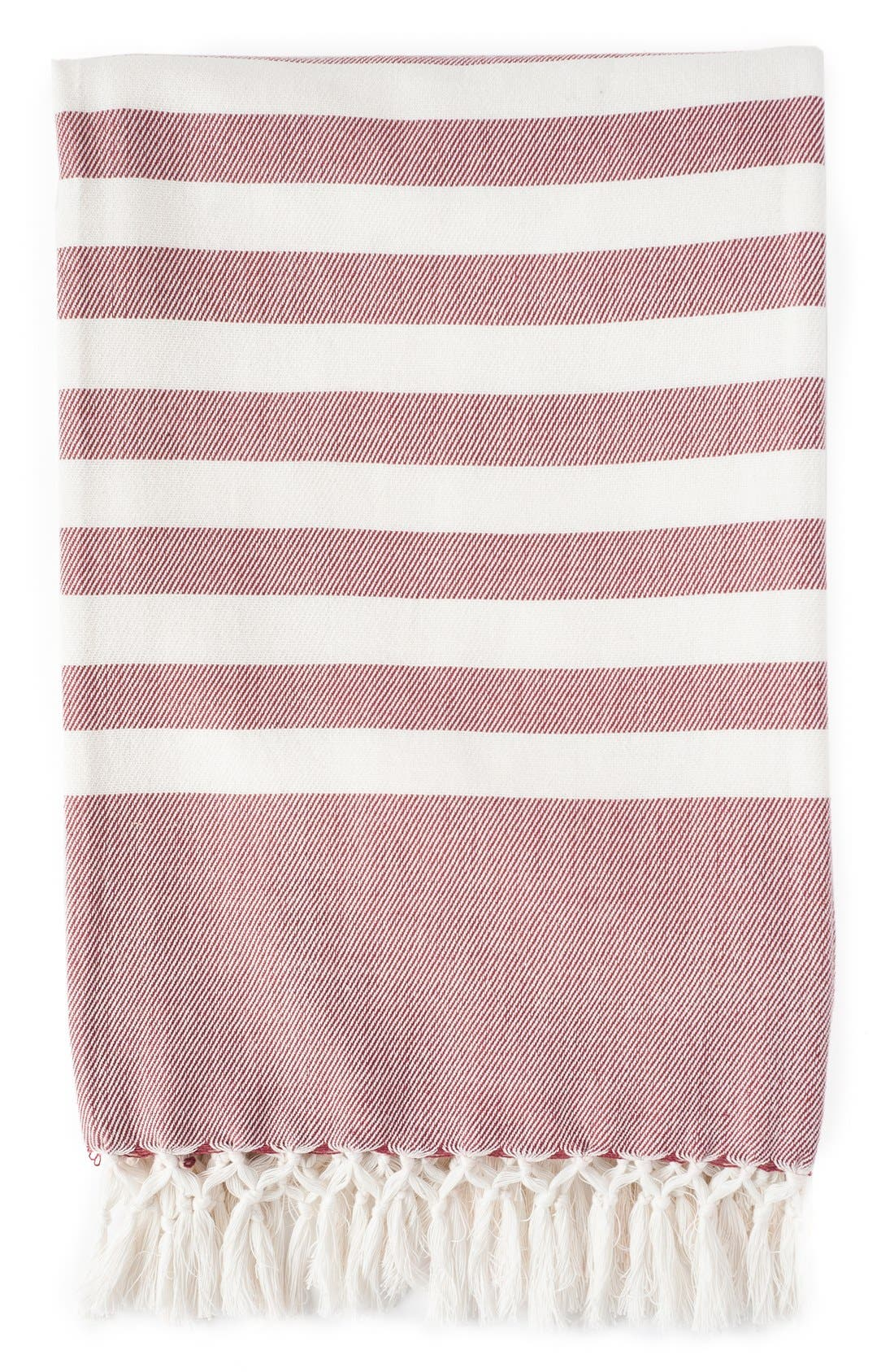 Stripe Throw,                         Main,                         color, 600
