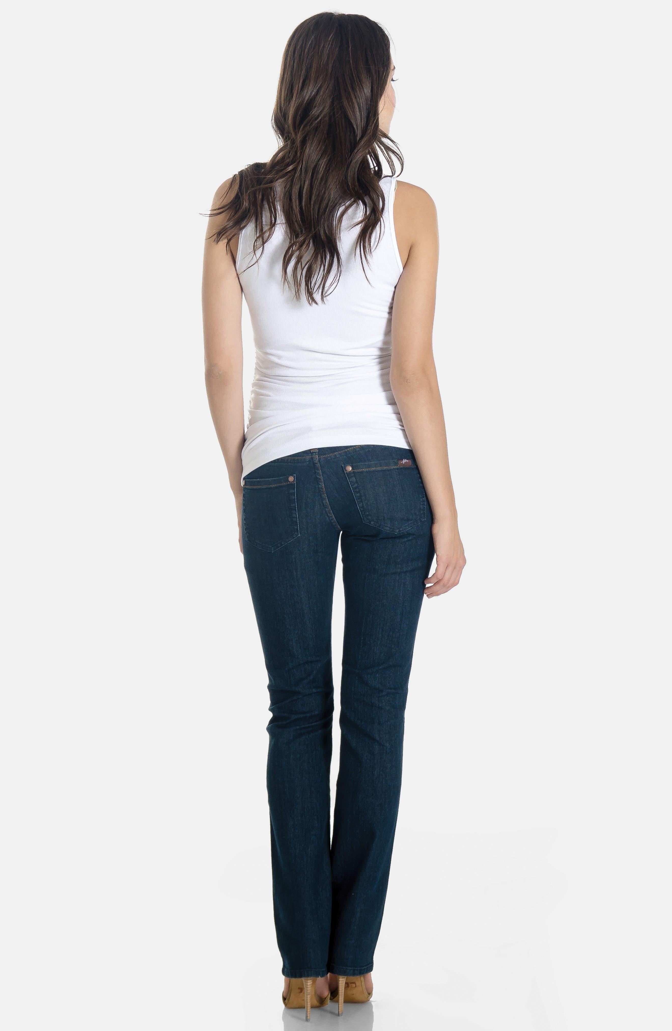 Maternity Jeans,                             Alternate thumbnail 3, color,                             400