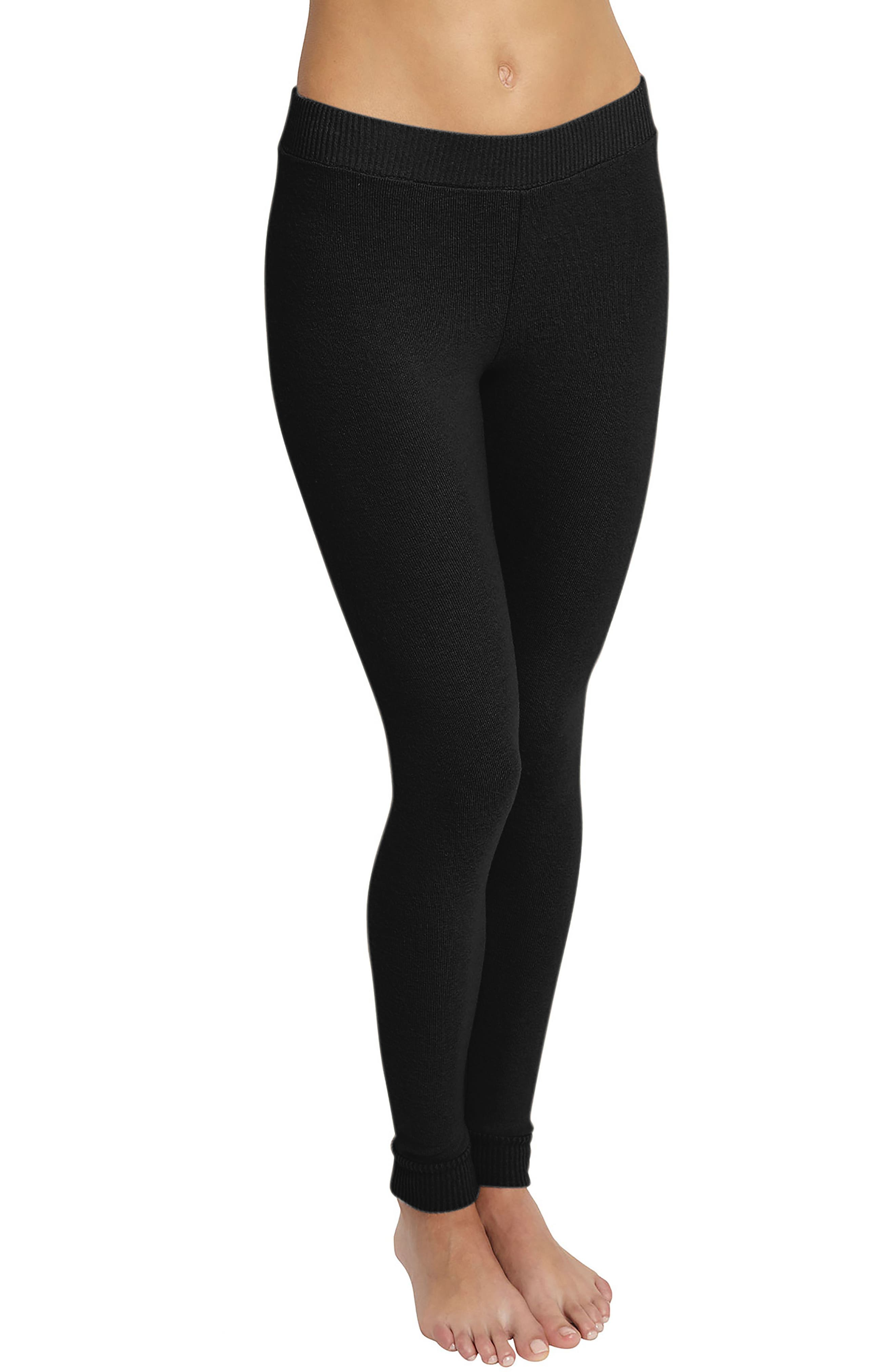 'Cozy Time' Leggings,                         Main,                         color, 001