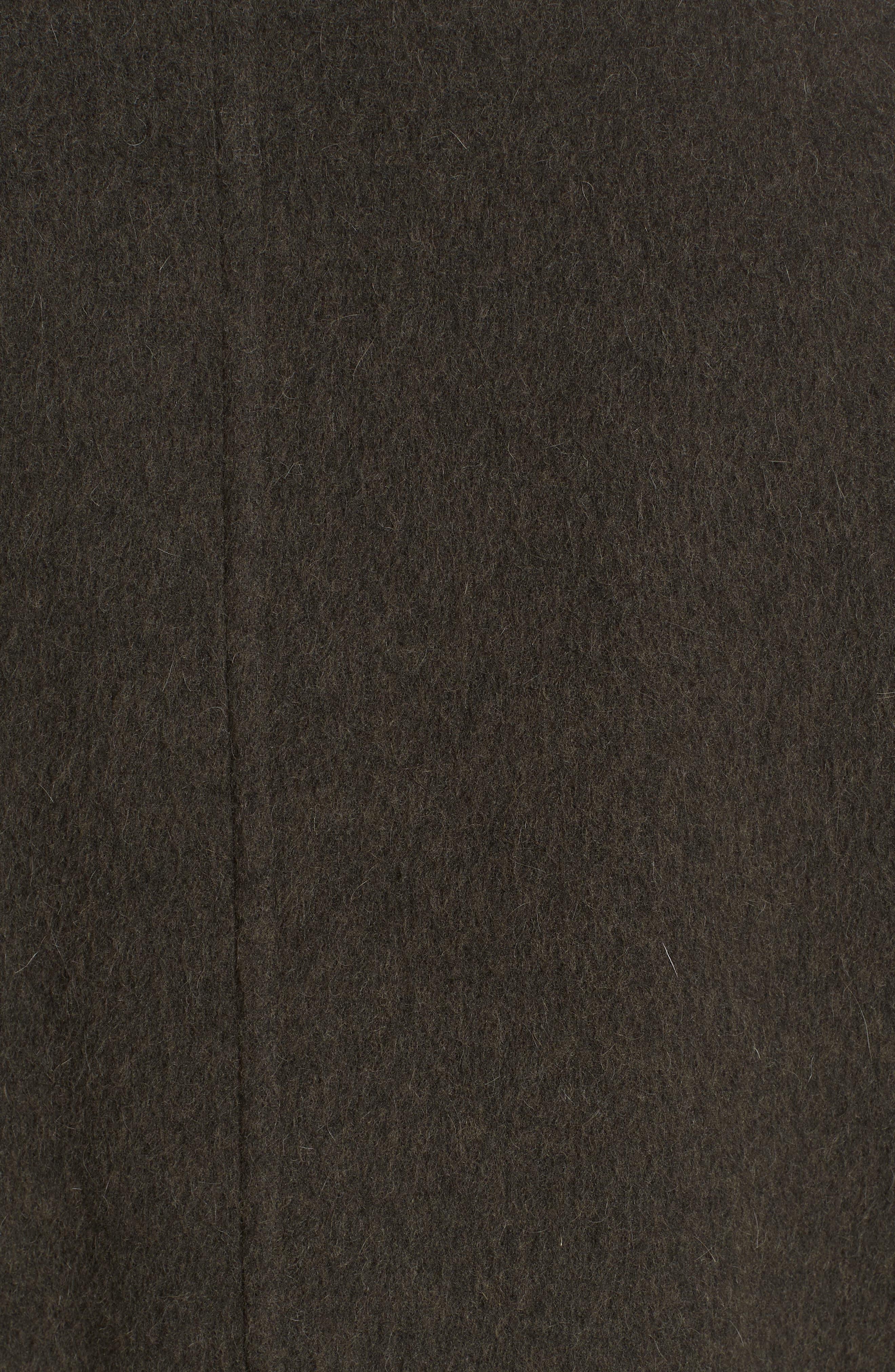 VINCE,                             Long Wool Alpaca Blend Coat,                             Alternate thumbnail 7, color,                             341