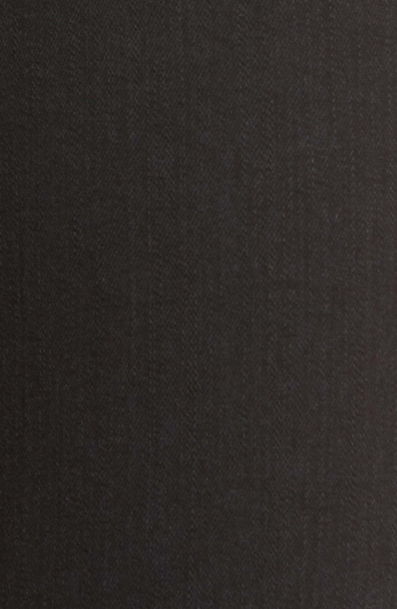 Alana High Waist Ankle Skinny Jeans,                             Alternate thumbnail 6, color,                             BLACK MERCY