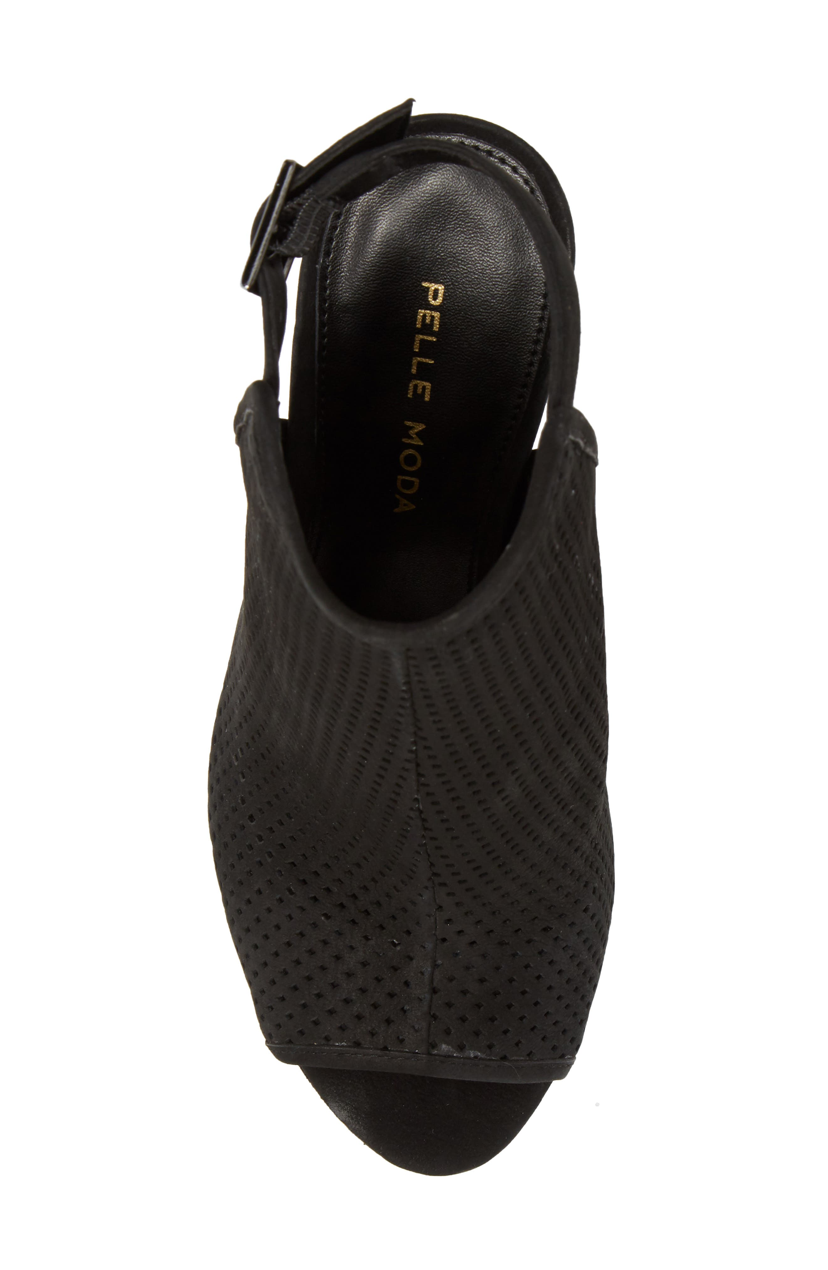 Paityn Platform Sandal,                             Alternate thumbnail 5, color,                             001