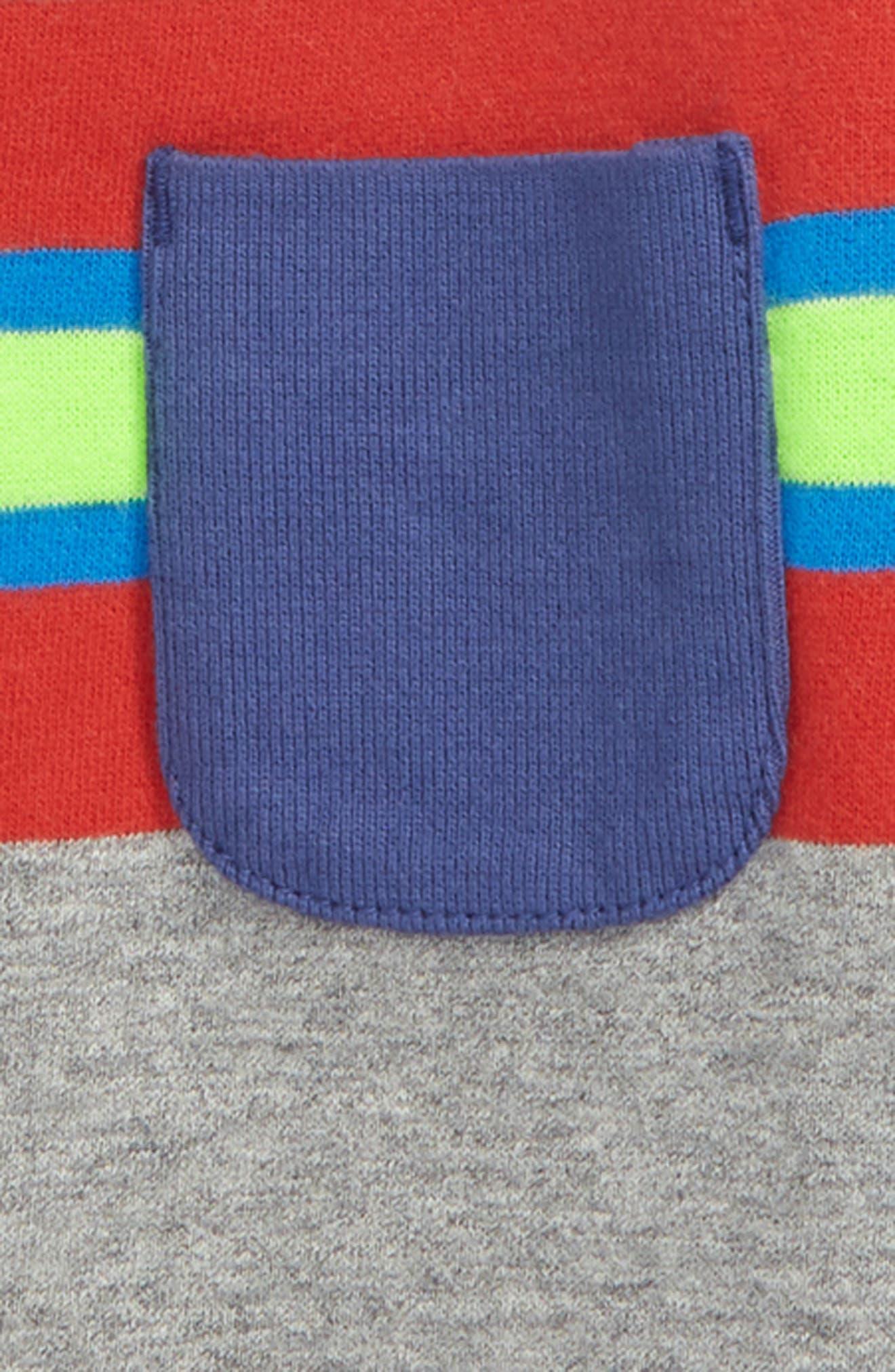 Fun Stripe Sweatshirt,                             Alternate thumbnail 2, color,                             034