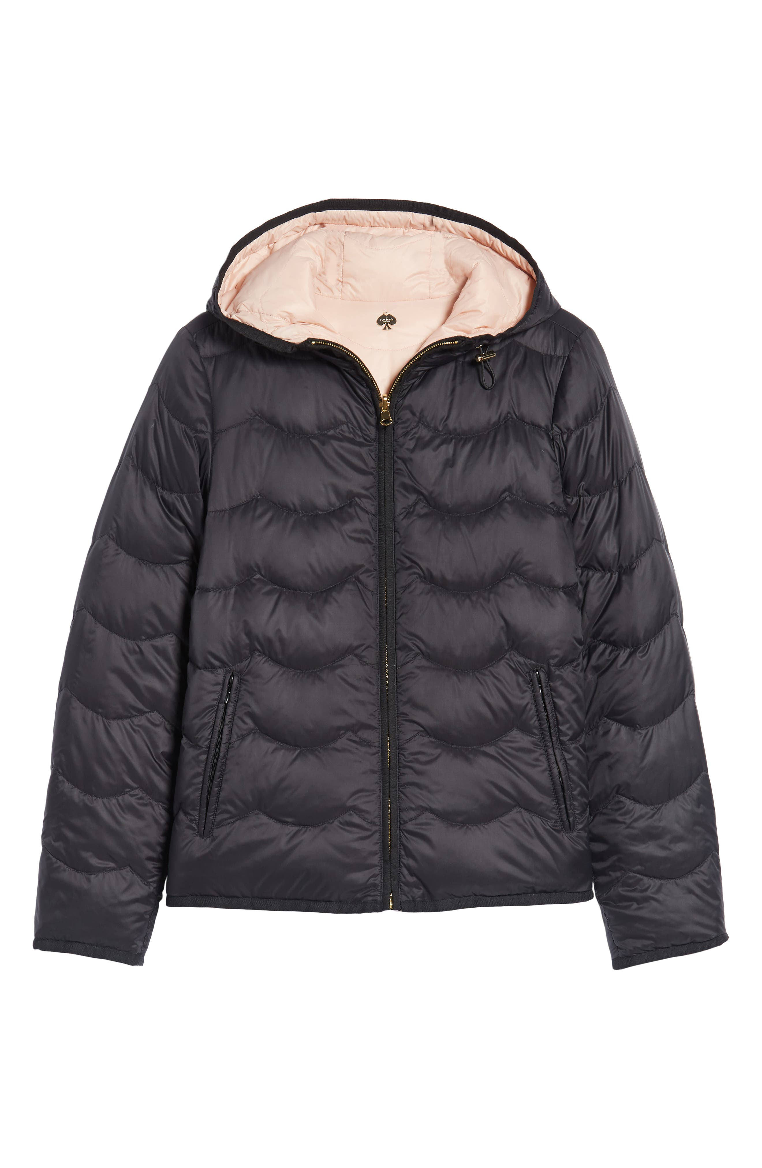 reversible quilted down jacket,                             Alternate thumbnail 7, color,                             001