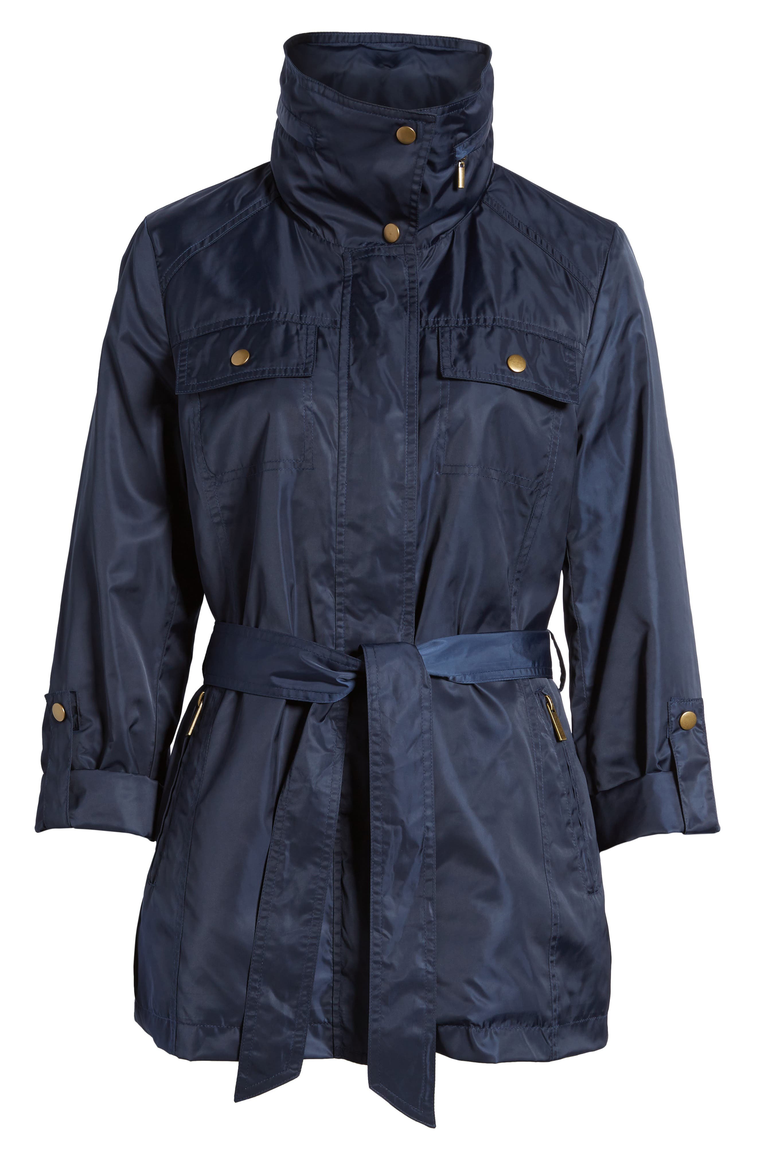 Belted Lightweight Jacket,                             Alternate thumbnail 19, color,