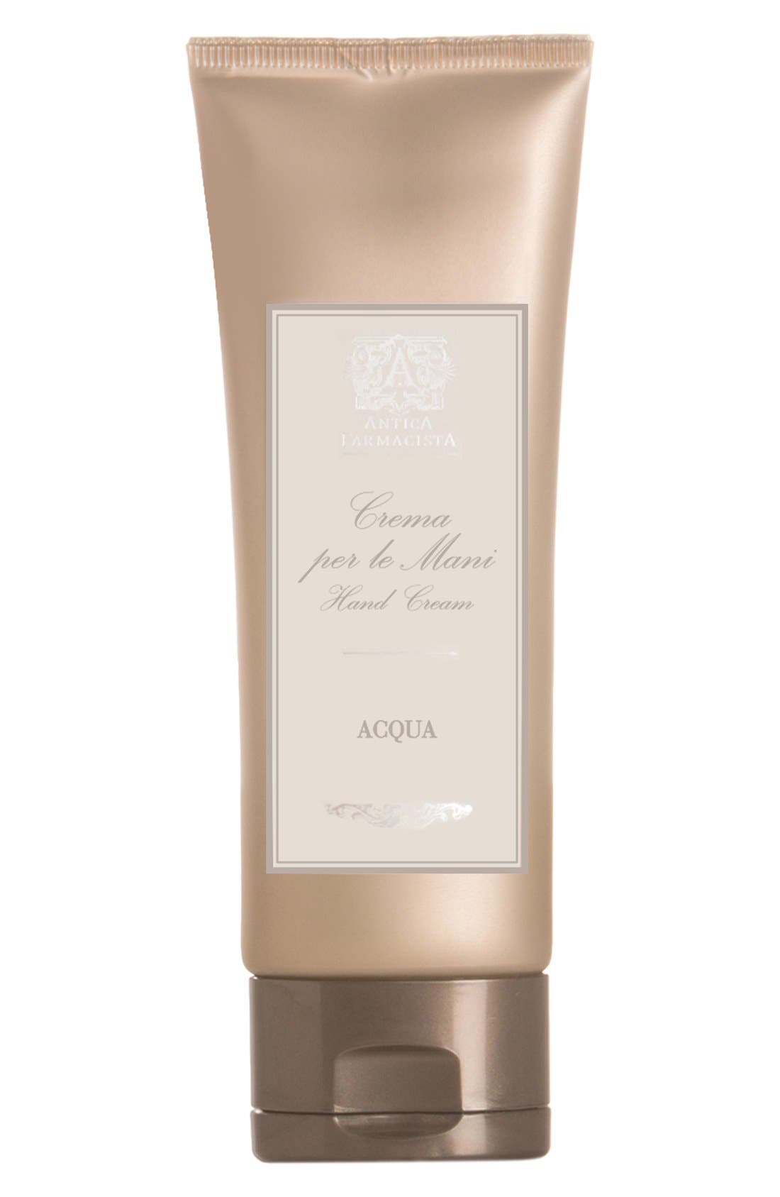 'Acqua' Hand Cream,                             Main thumbnail 1, color,                             000