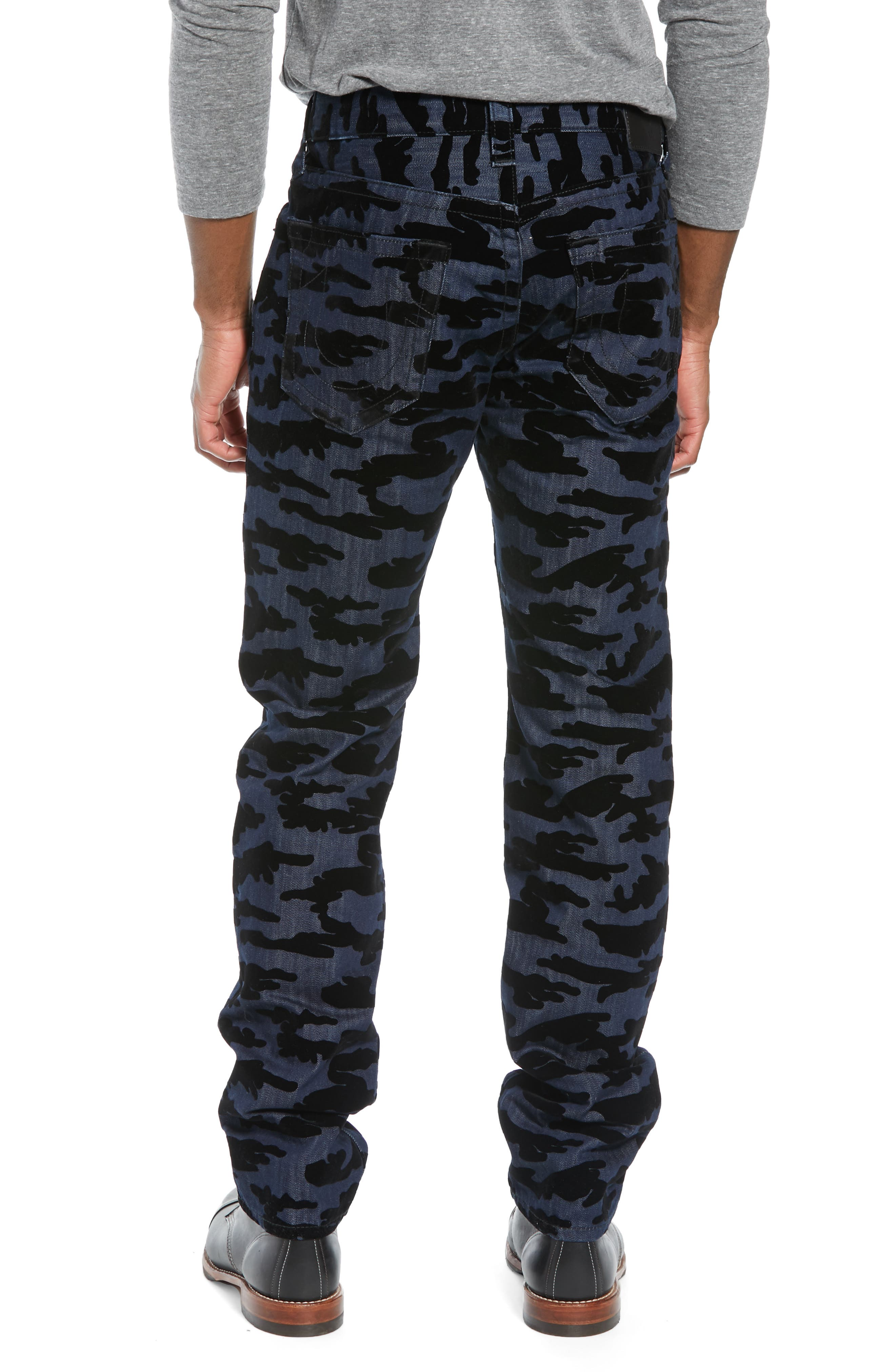 Rocco Camo Skinny Fit Jeans,                             Alternate thumbnail 2, color,                             2S BODY RINSE
