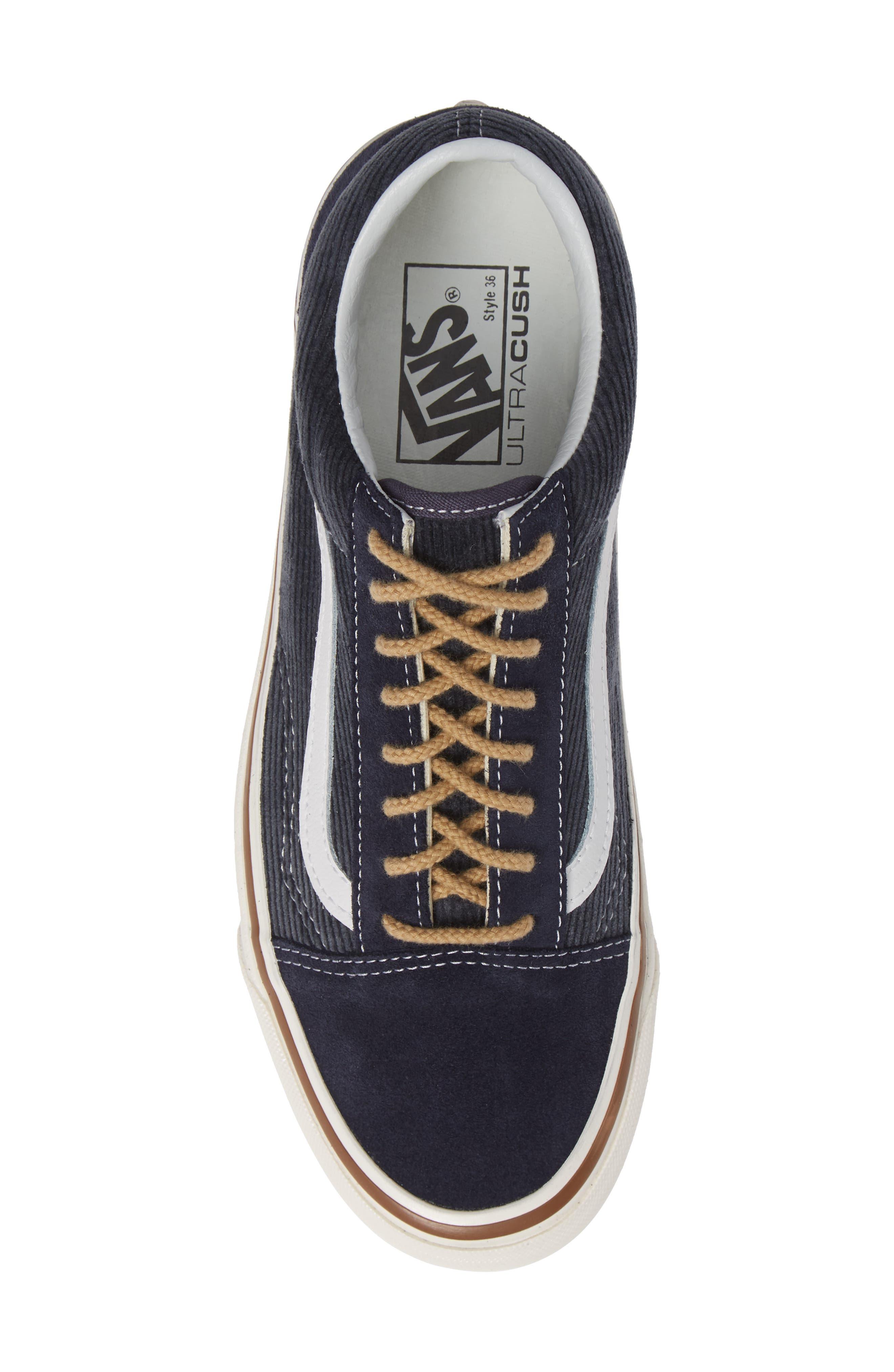 Anaheim Factory Old Skool 36 DX Sneaker,                             Alternate thumbnail 5, color,                             NAVY/ SUEDE/ CORDUROY