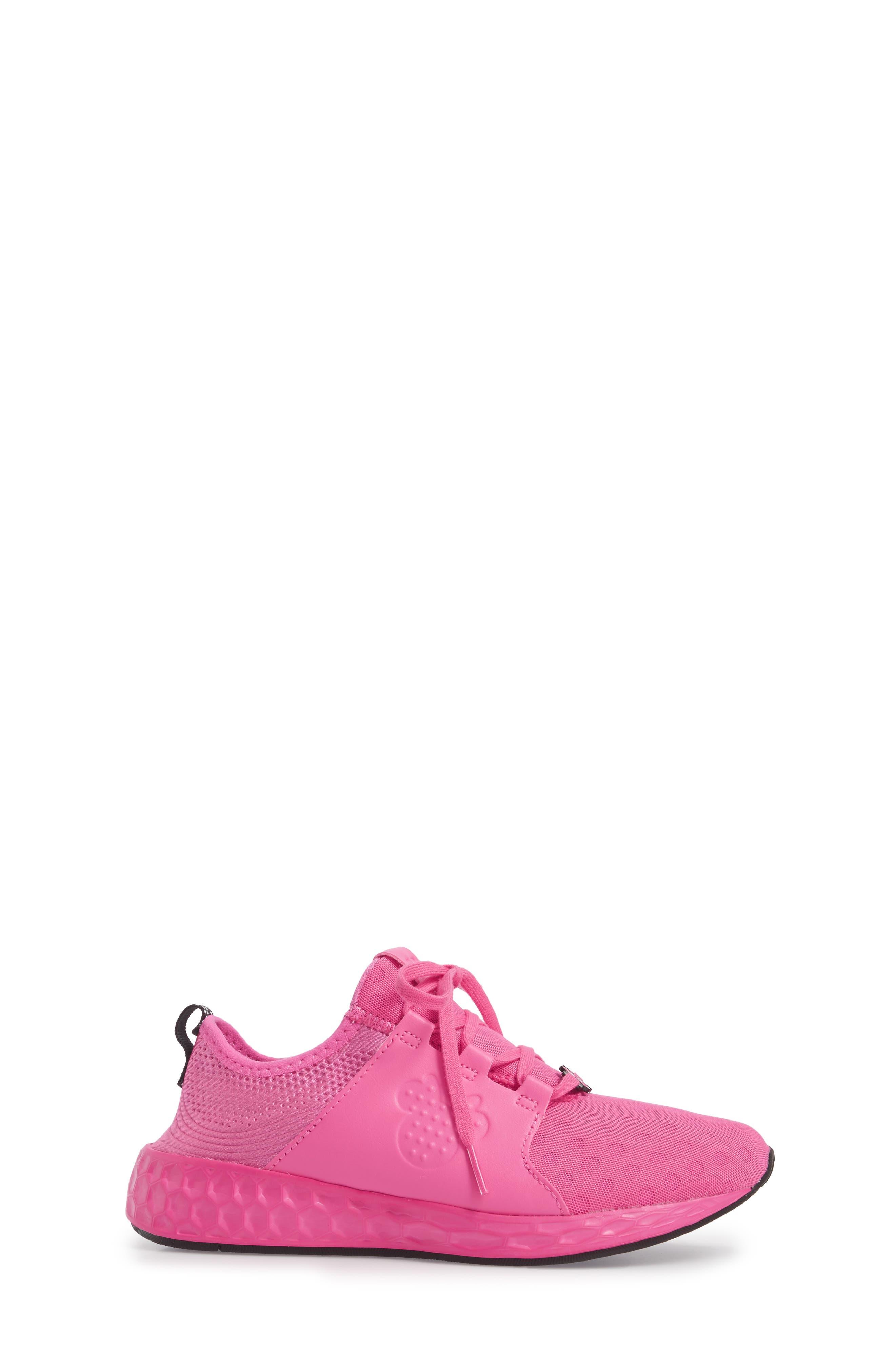 x Disney Minnie Mouse Cruz Sport Sneaker,                             Alternate thumbnail 6, color,